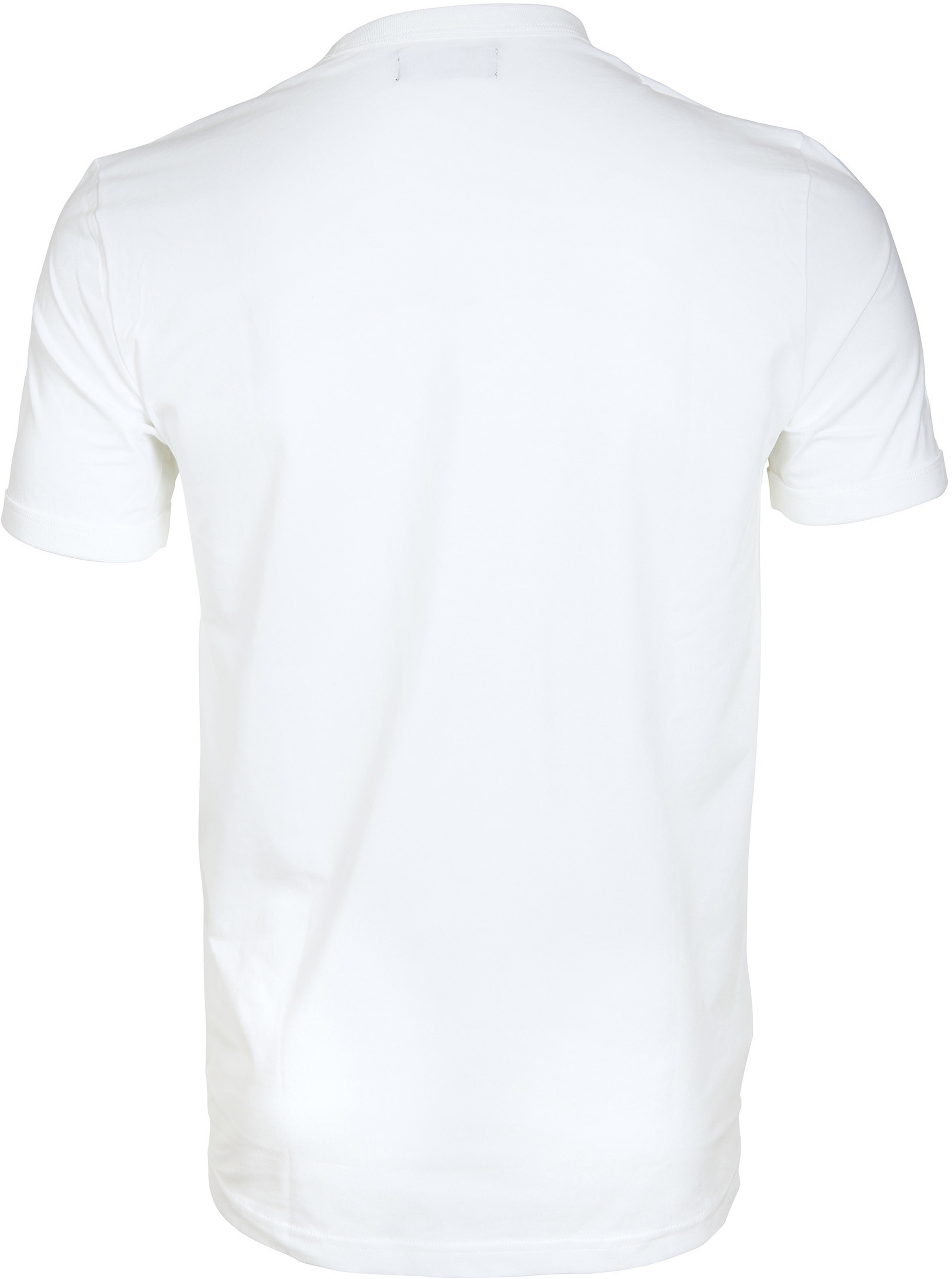 Fred Perry Ringer T-Shirt Wit foto 2