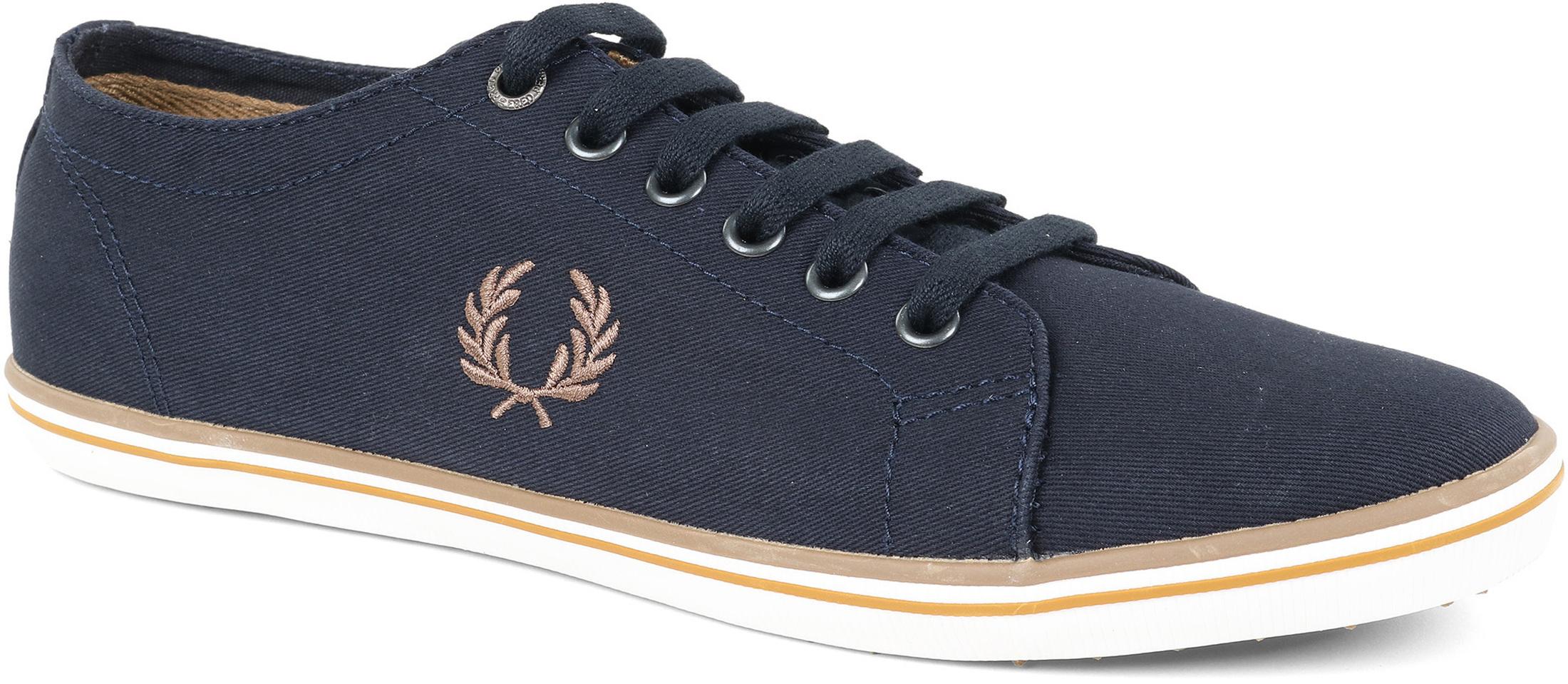 Dark Kingston Perry 248 B6259u Navy Sneaker Blue Twill Fred RL4Aj35