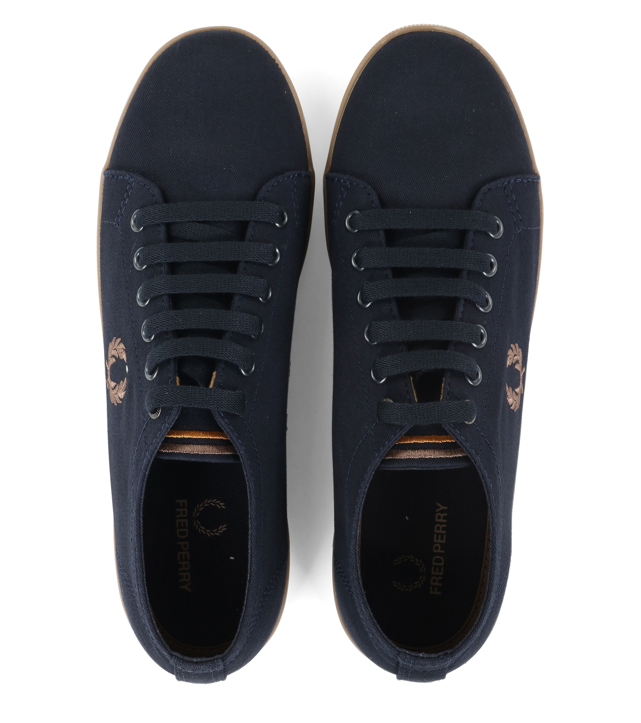 Fred Perry Sneaker Kingston Navy foto 2