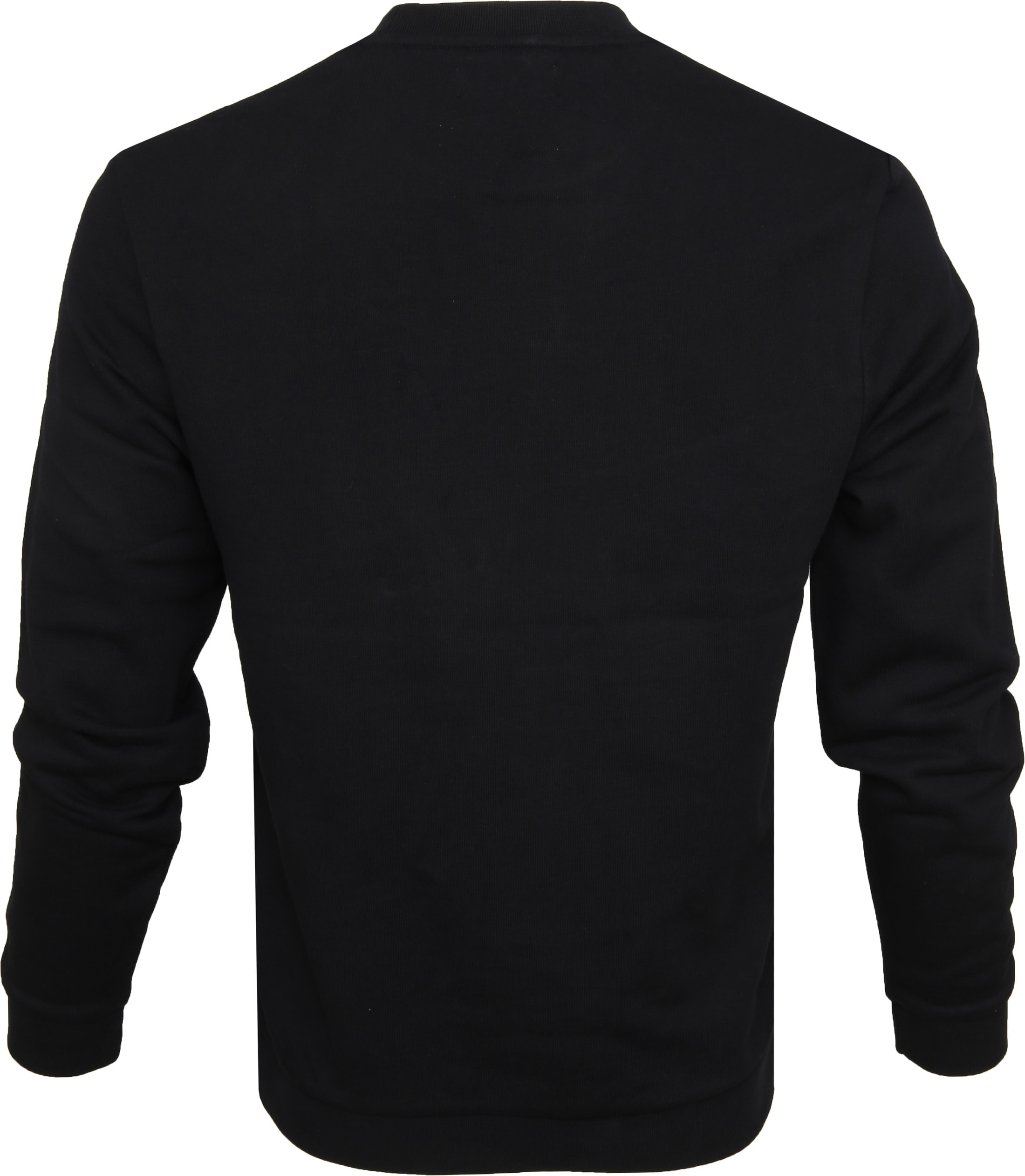 Fred Perry Sweater Black Logo foto 2