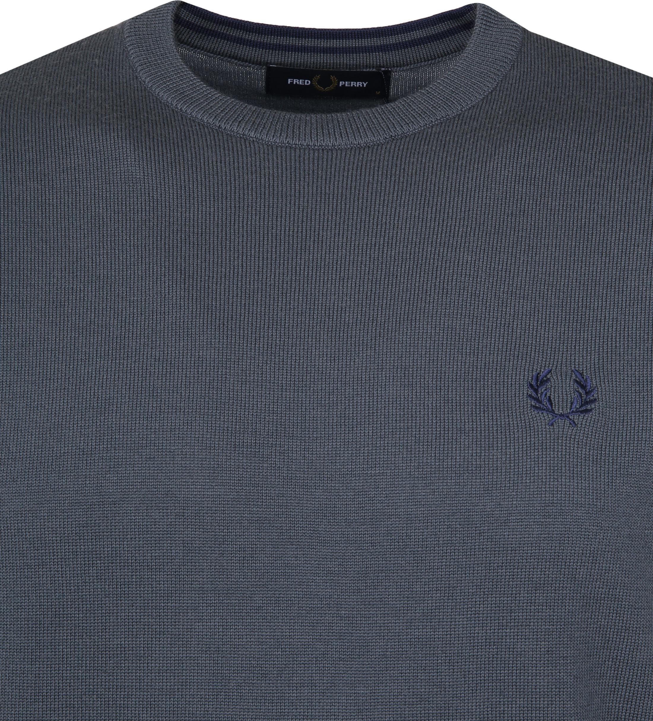 Fred Perry Sweater Classic Merino Grey foto 1