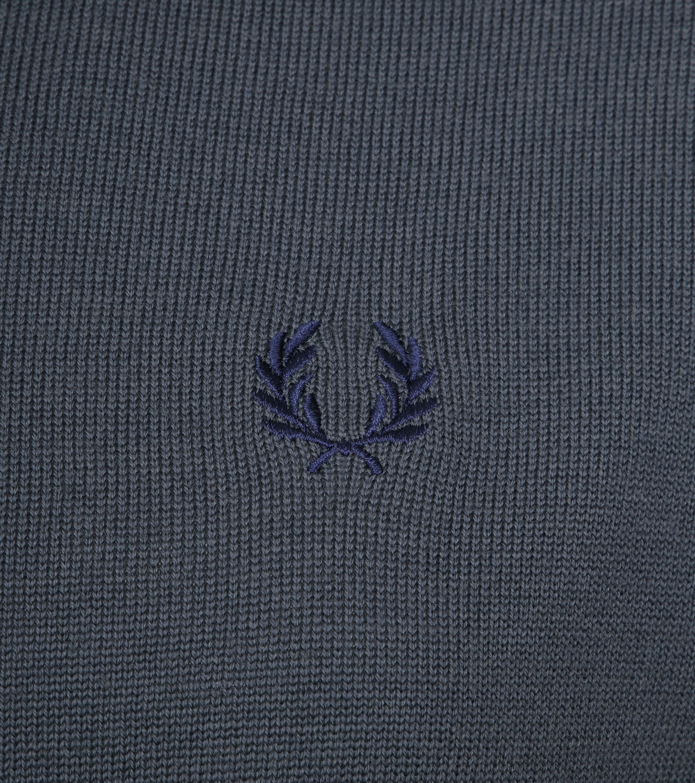 Fred Perry Sweater Classic Merino Grey foto 2
