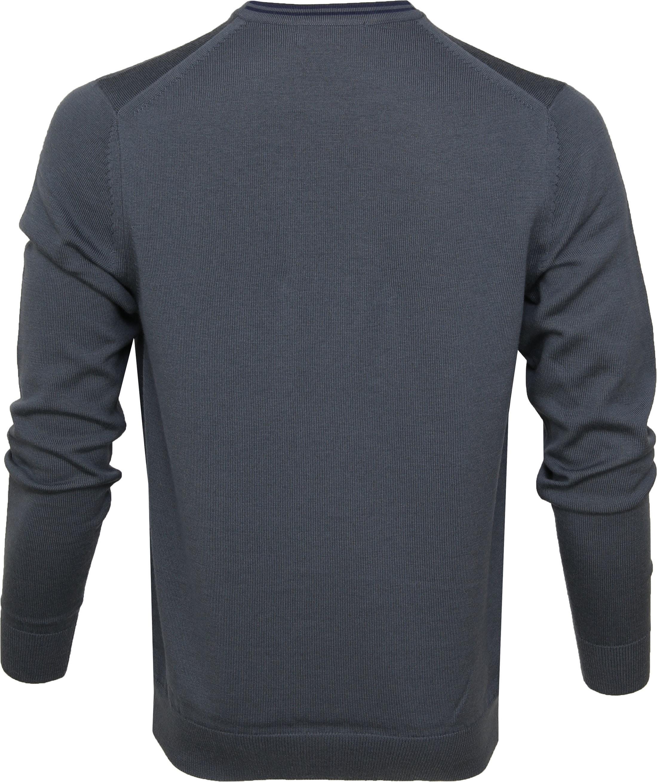 Fred Perry Sweater Classic Merino Grey foto 3