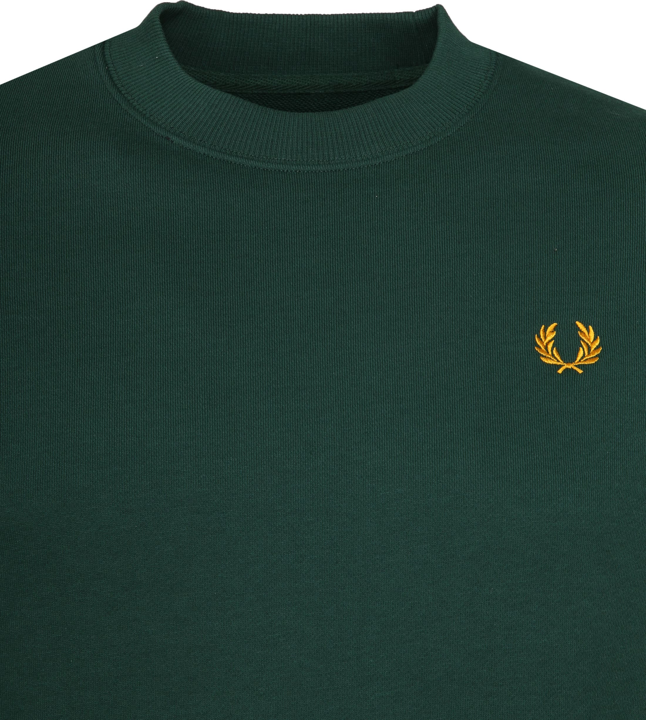 Fred Perry Sweater Crew Groen foto 1