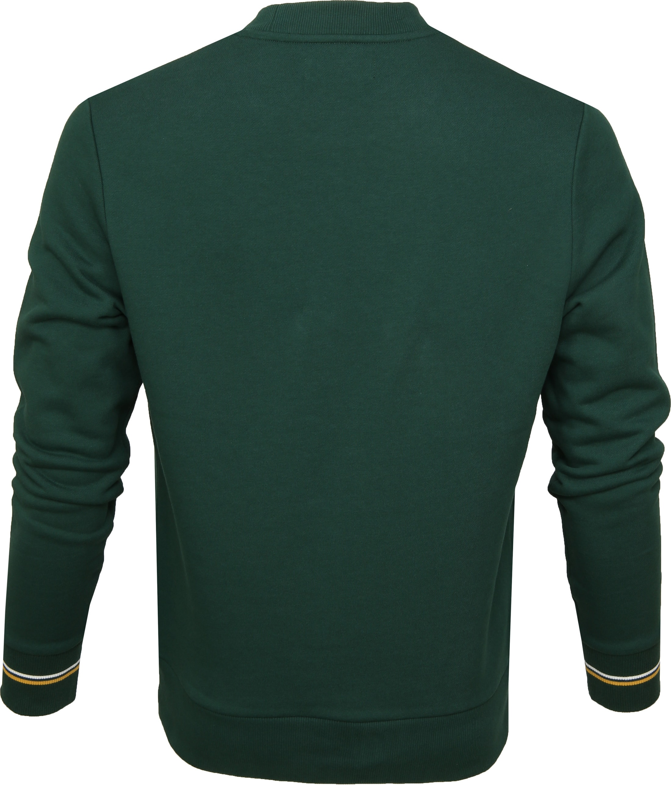 Fred Perry Sweater Crew Groen foto 3
