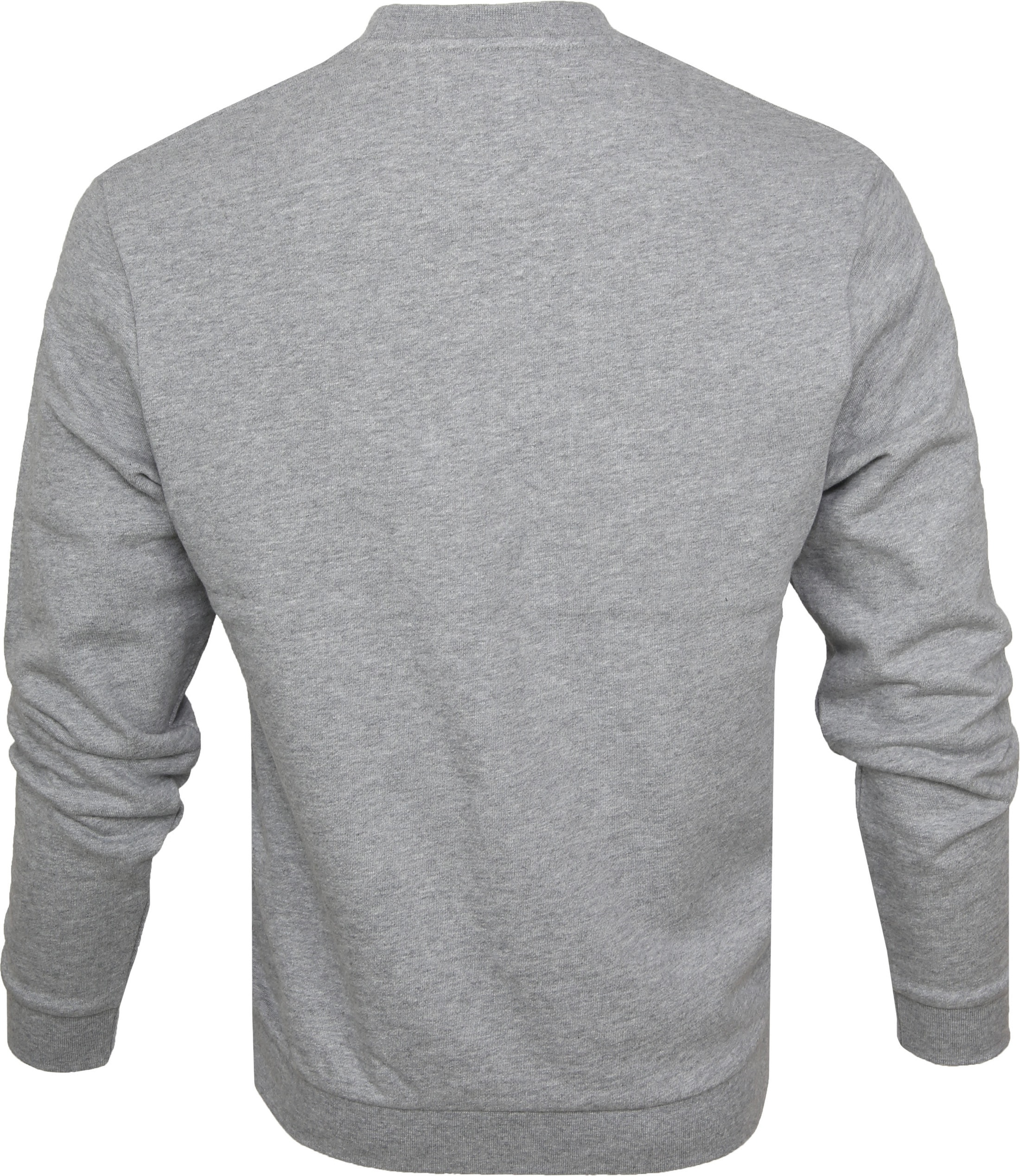 Fred Perry Sweater Grey Logo foto 2