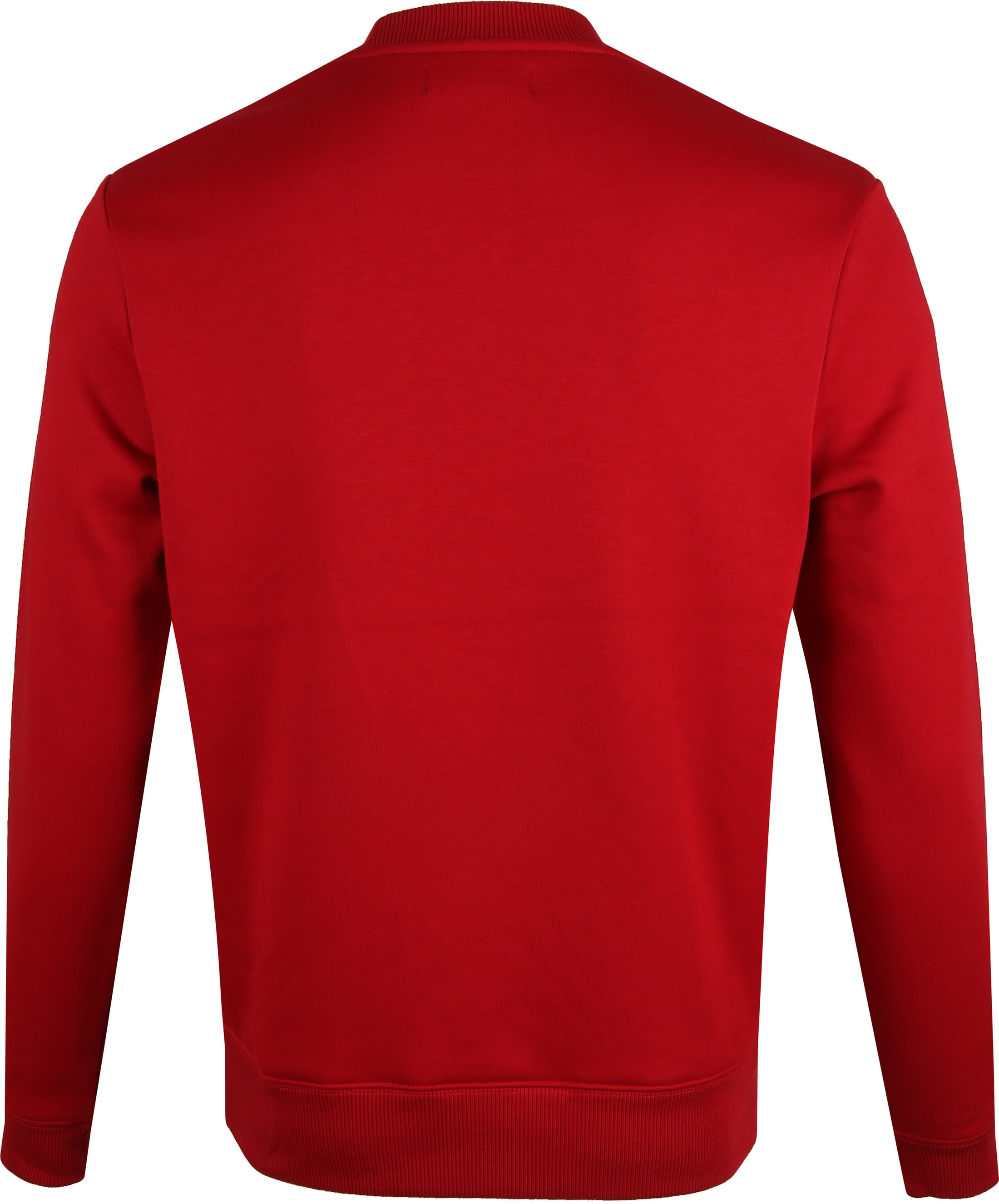 Fred Perry Sweater Logo Rood foto 3