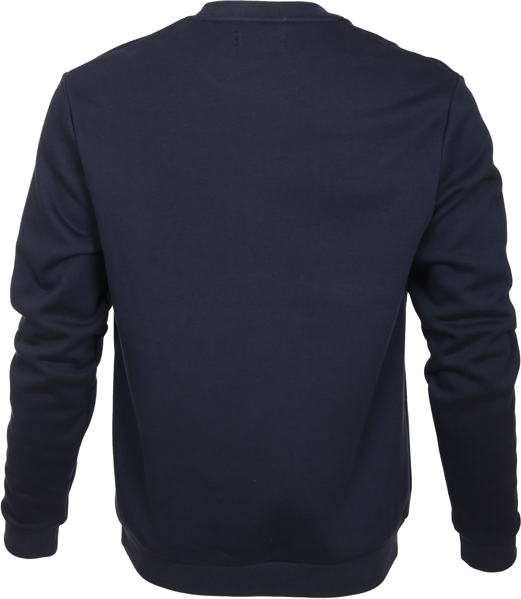 Fred Perry Sweater Navy Logo foto 2