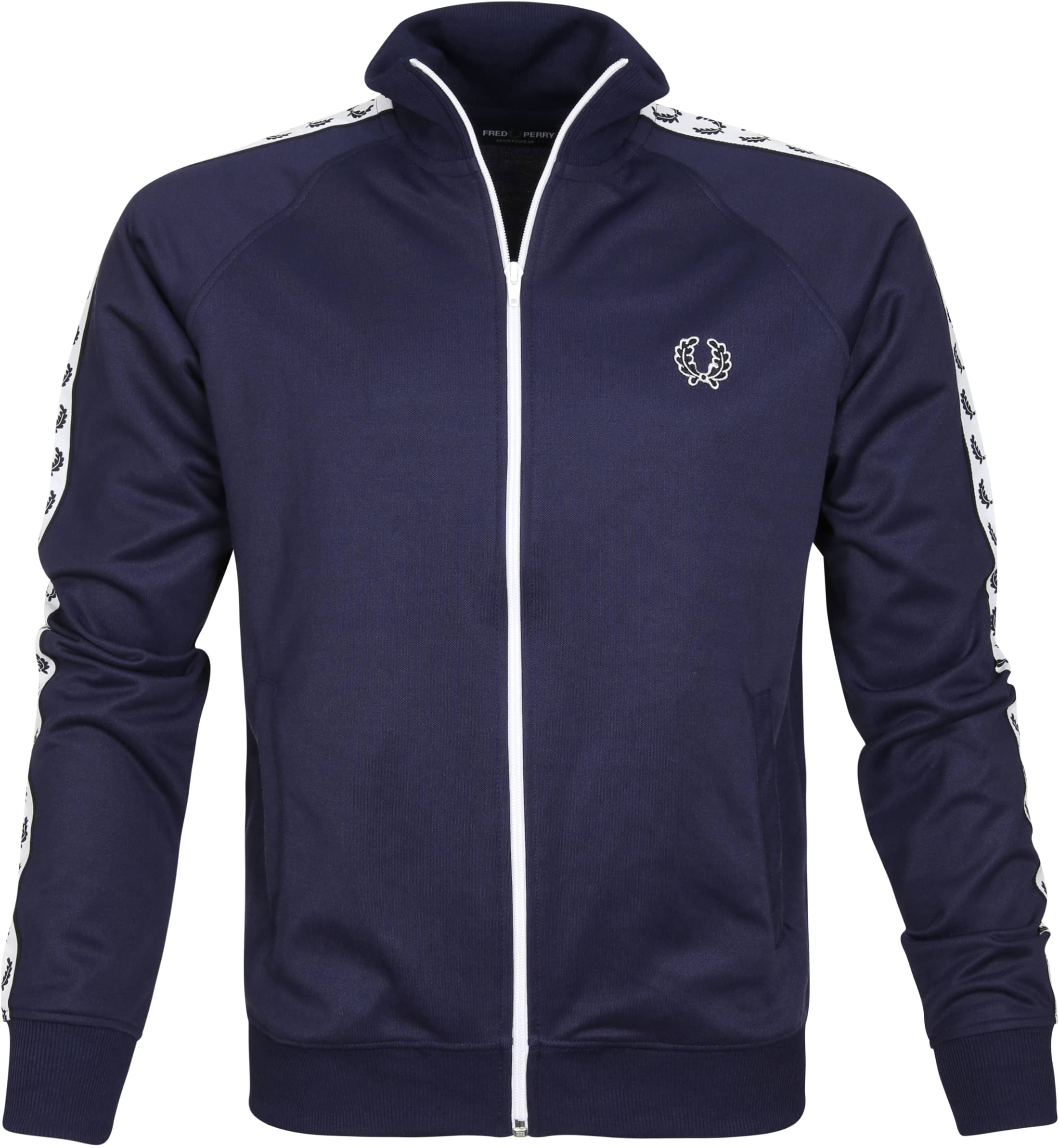 Fred Perry Taped Track Jacket Navy foto 0