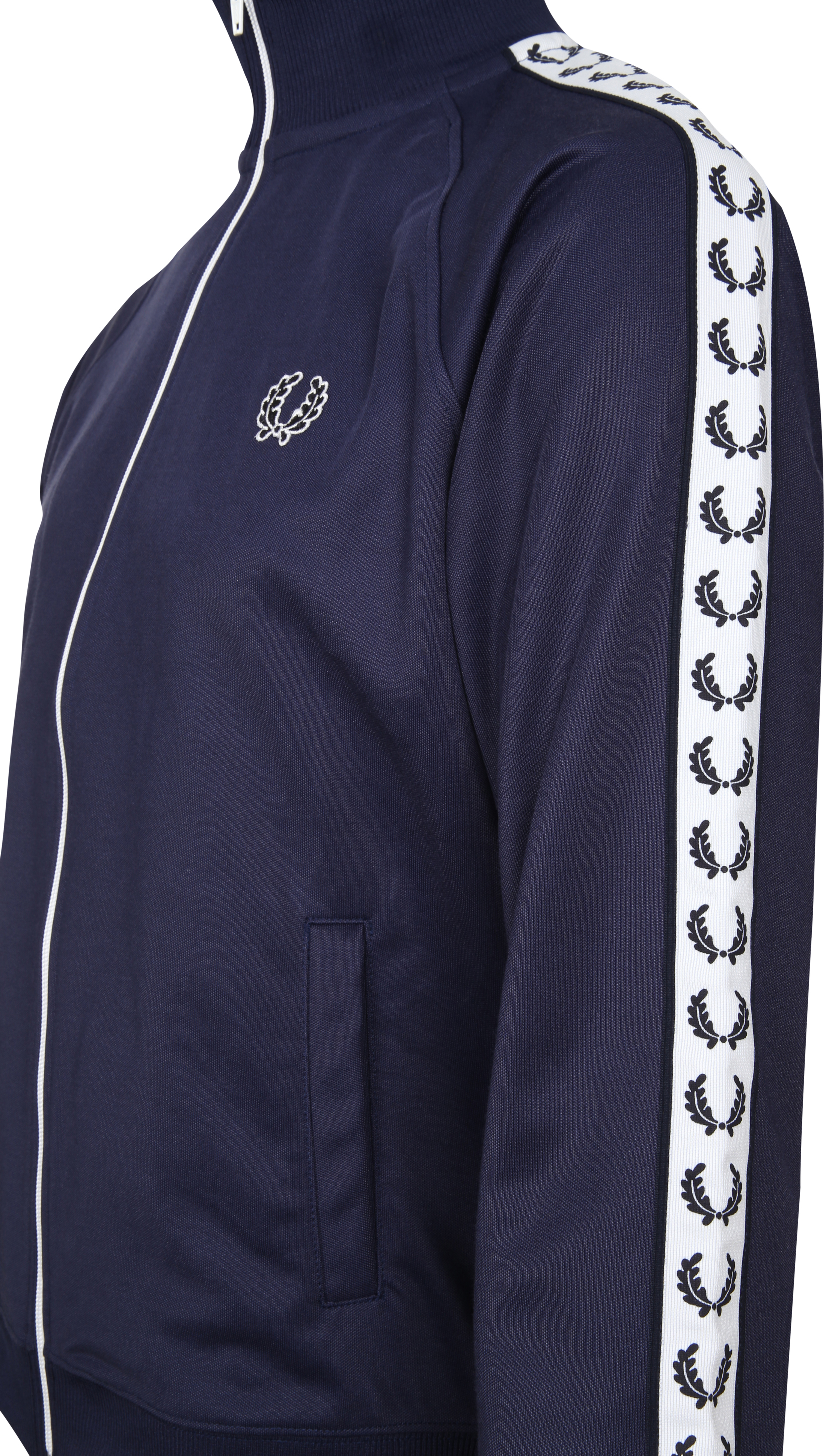 Fred Perry Taped Track Jacket Navy foto 4