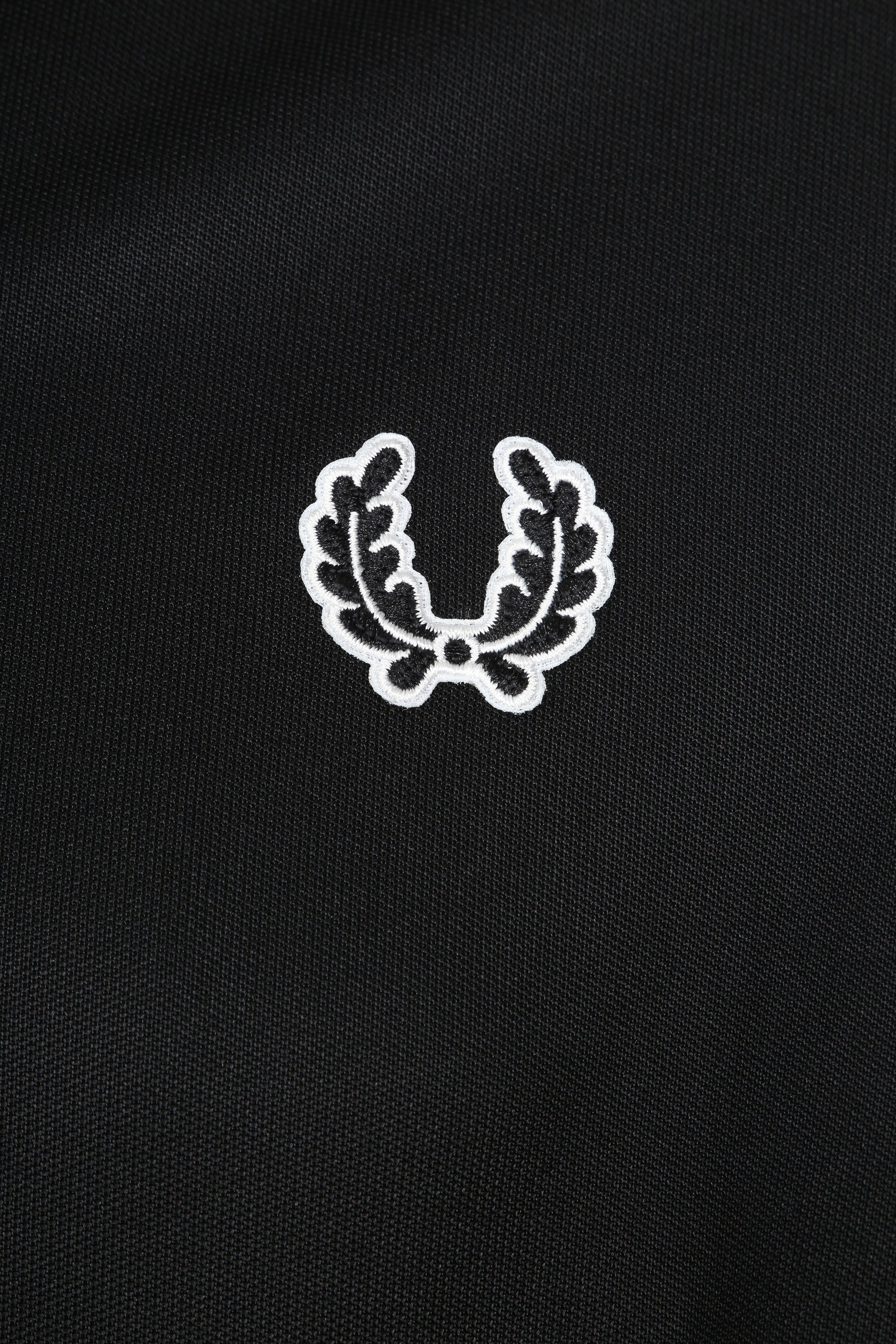 Fred Perry Taped Track Jacket Zwart foto 2