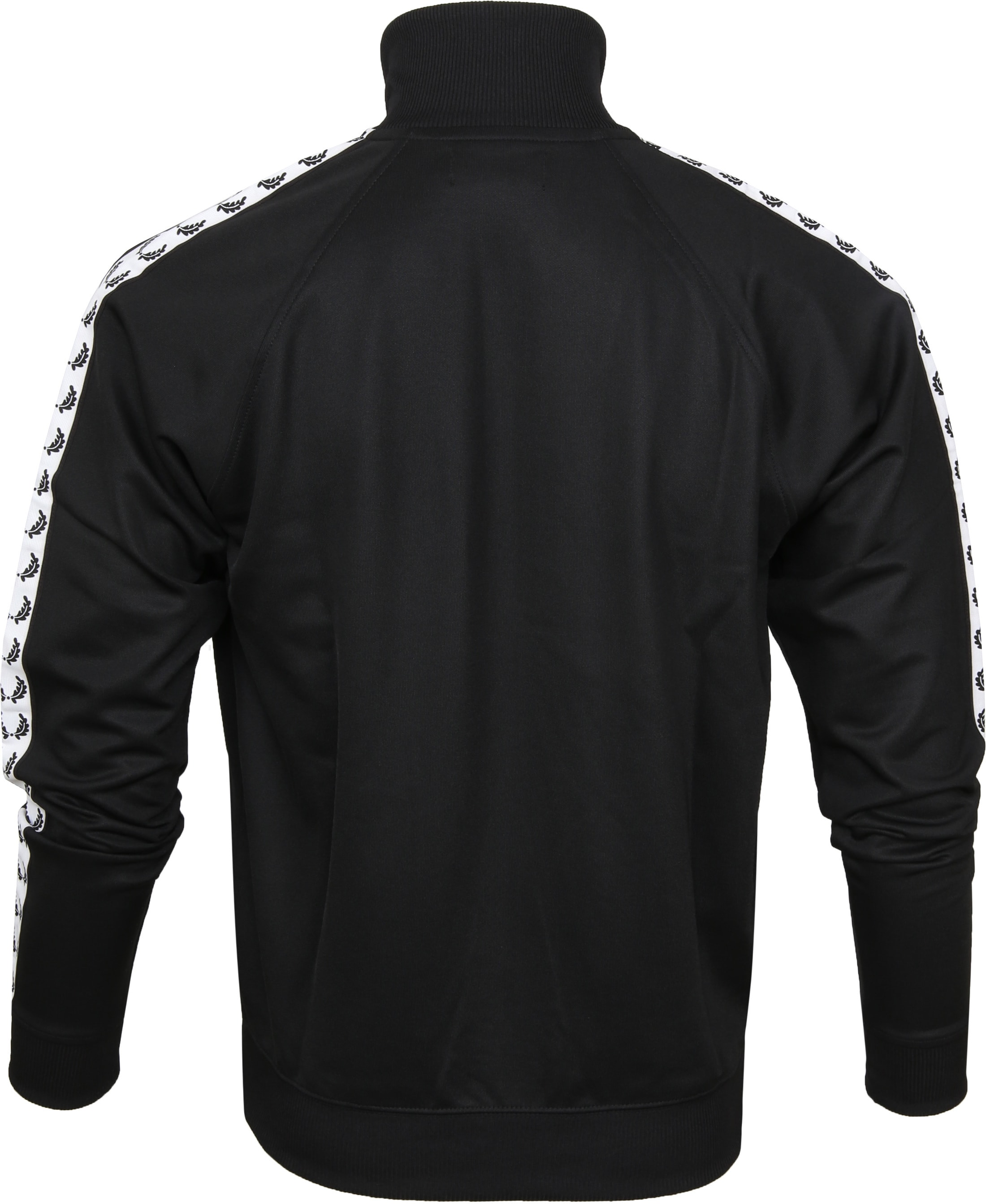 Fred Perry Taped Track Jacket Zwart foto 4