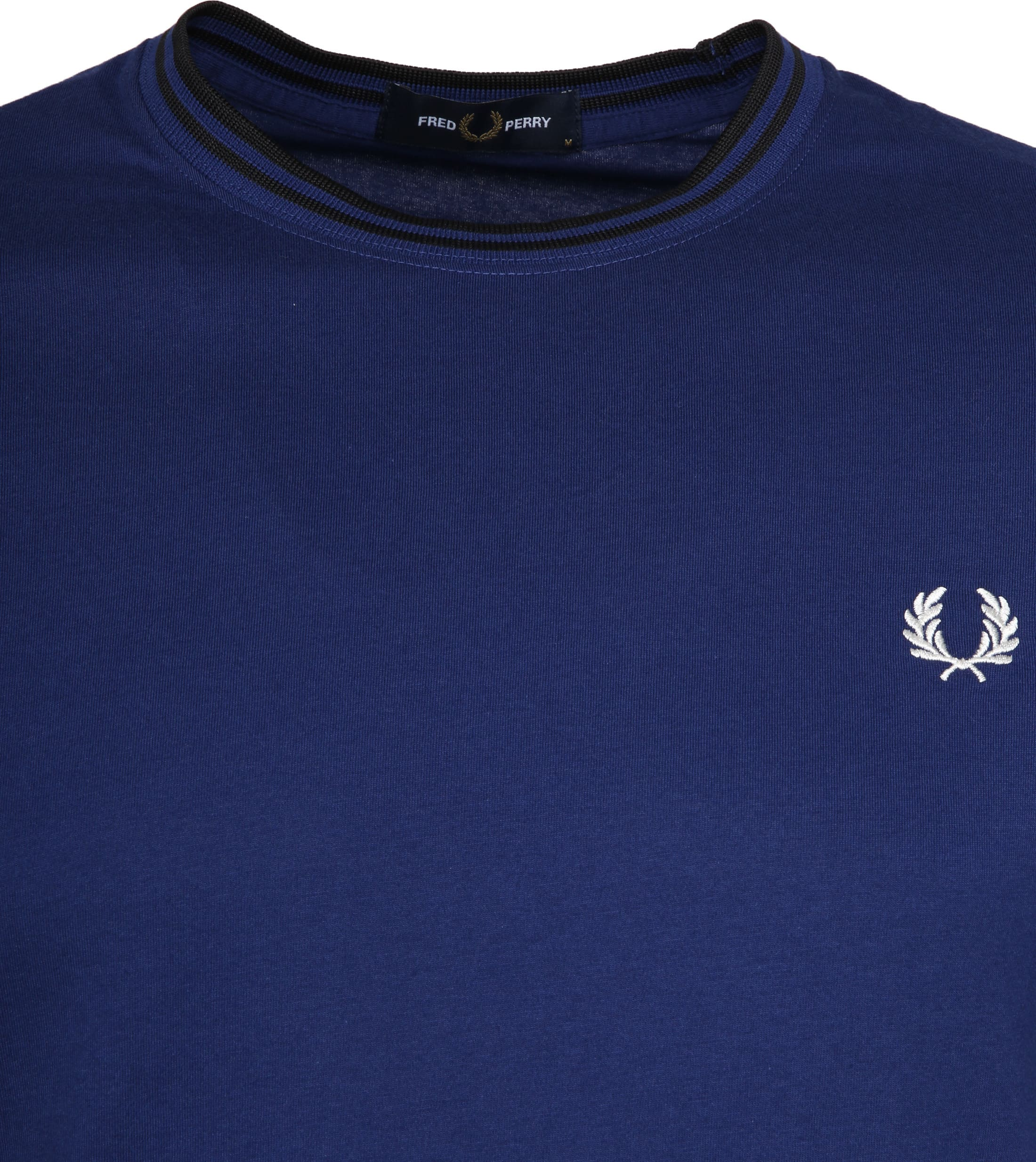 Fred Perry Twin Tipped T-shirt Blau foto 1
