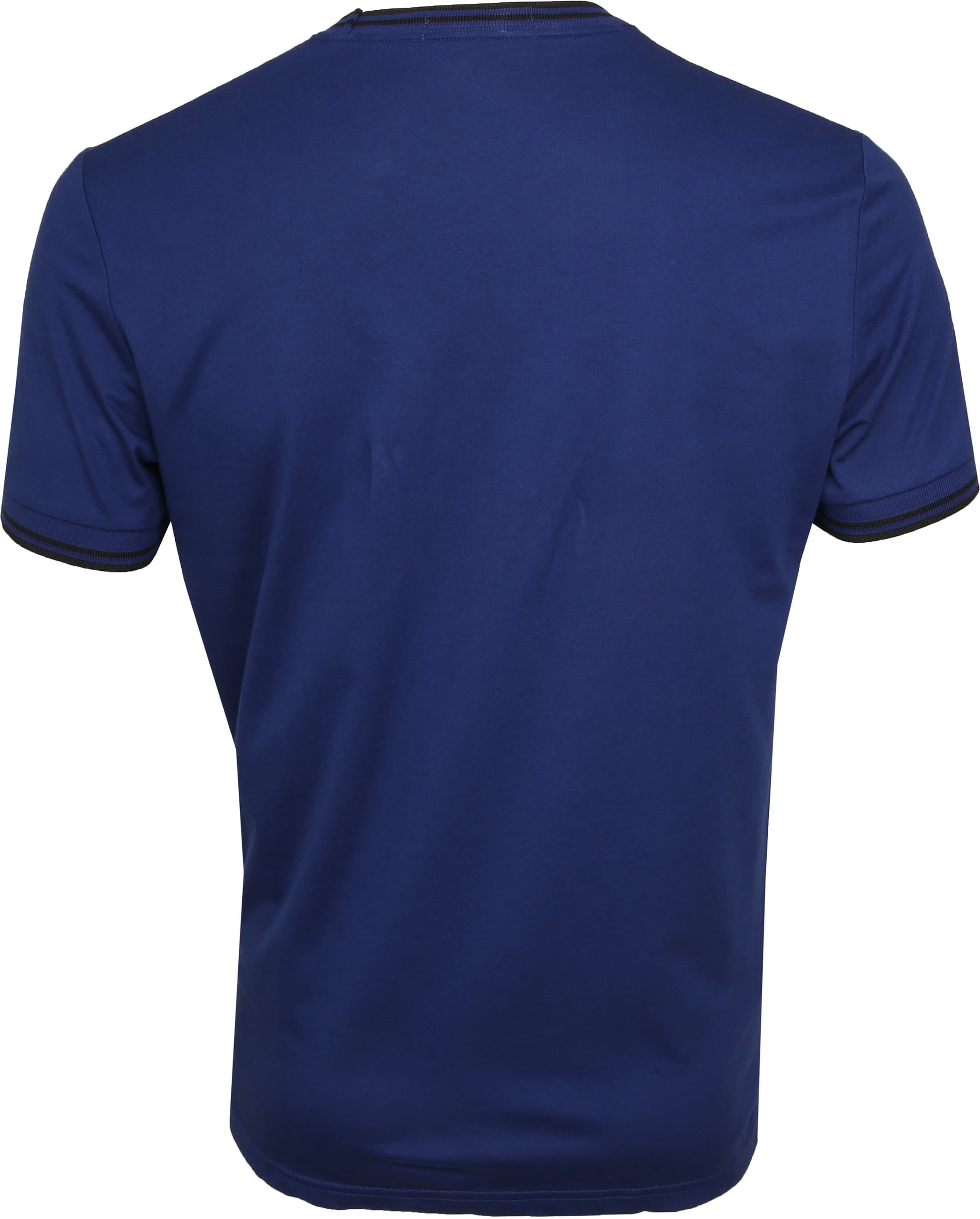 Fred Perry Twin Tipped T-shirt Blau foto 3