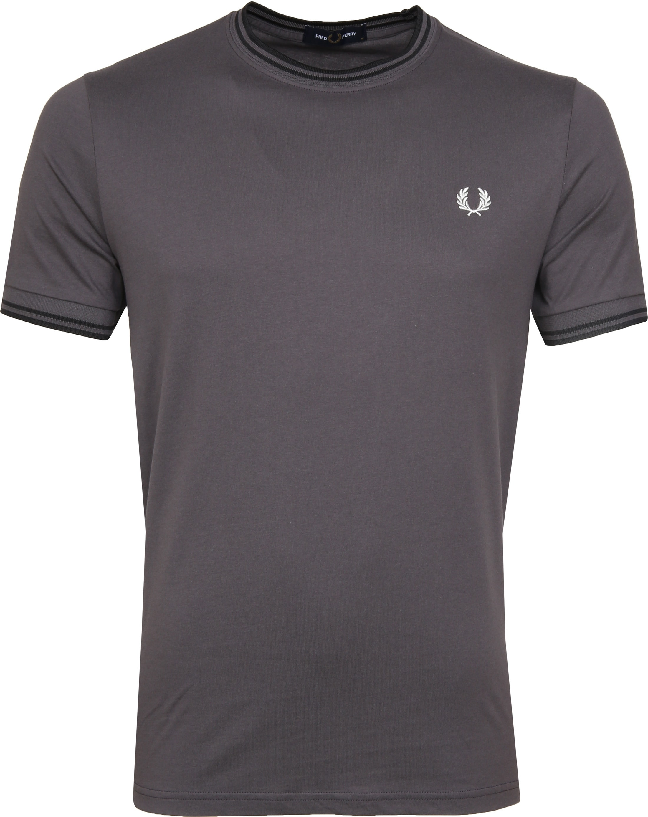 Fred Perry Twin Tipped T-shirt Grau foto 0