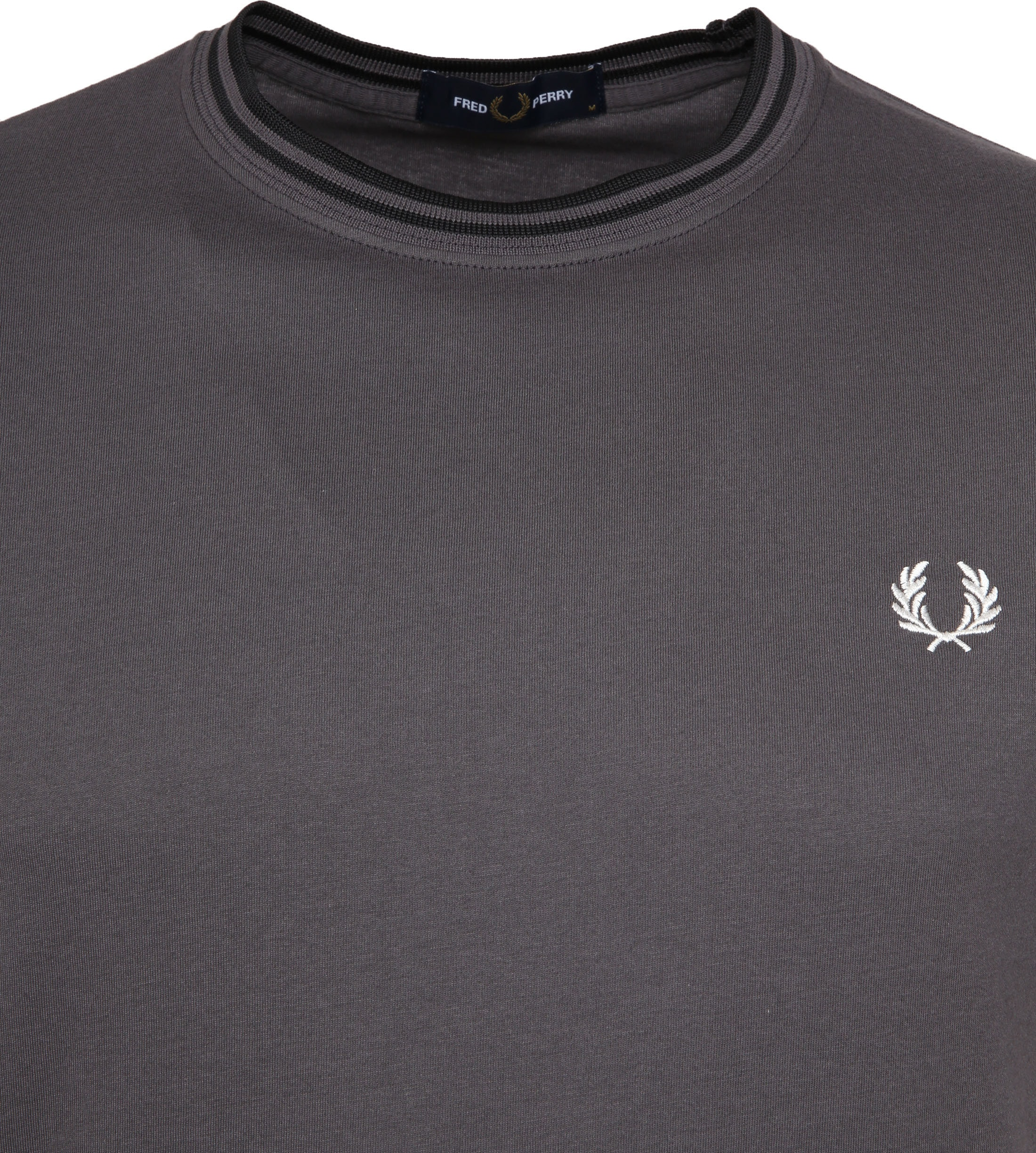 Fred Perry Twin Tipped T-shirt Grau foto 1