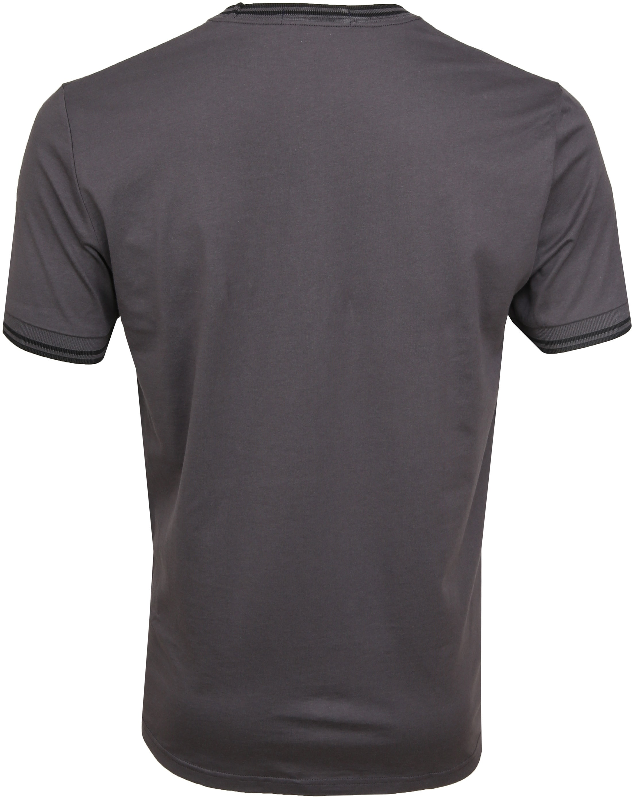 Fred Perry Twin Tipped T-shirt Grau foto 3
