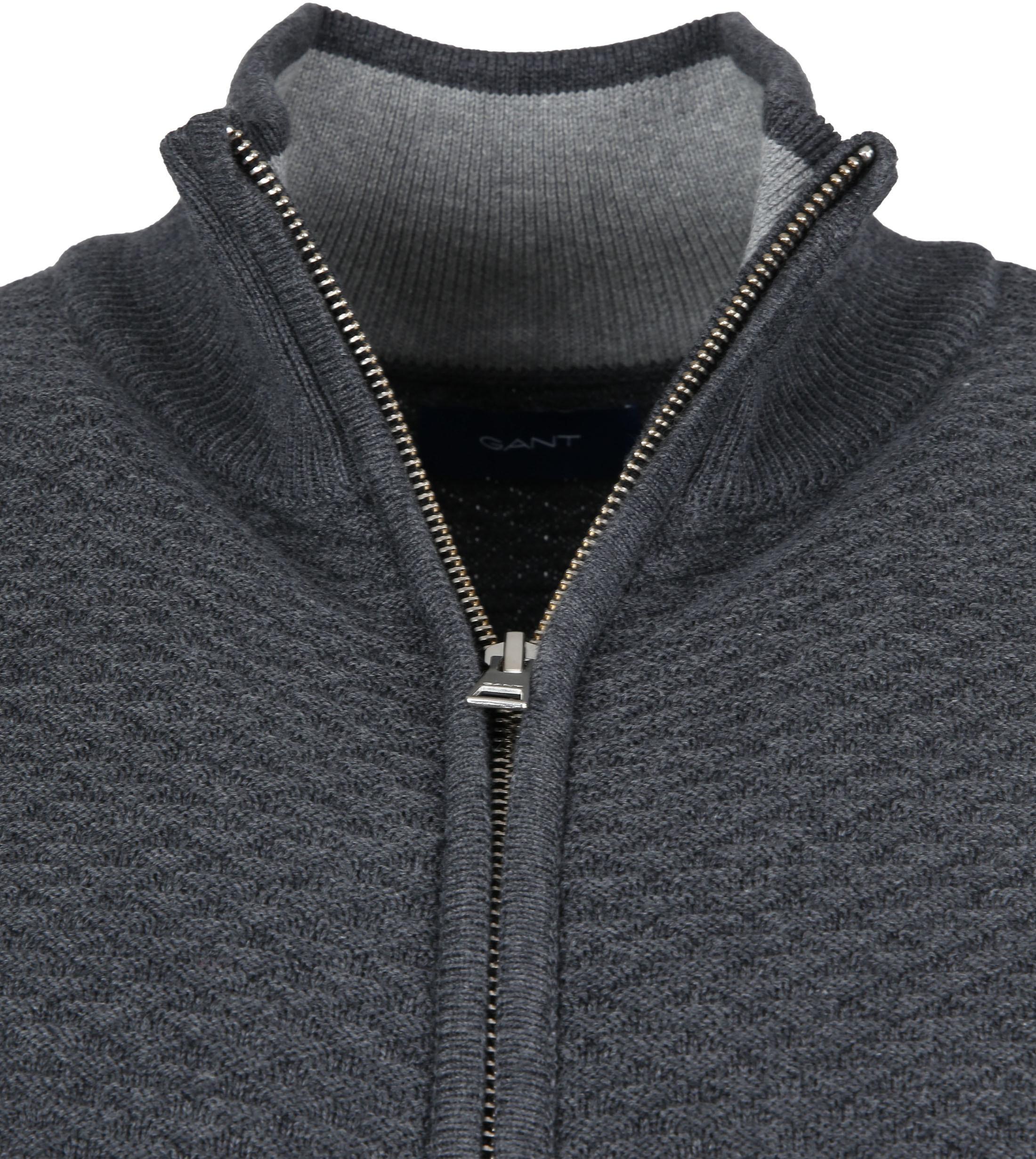 Gant Cardigan Dark Grey