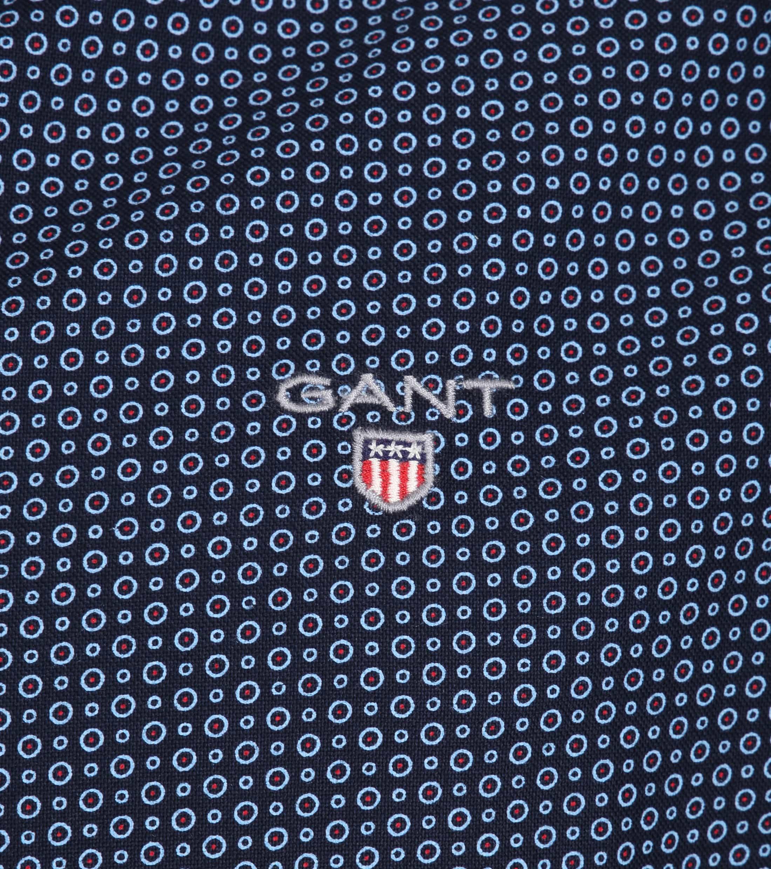 Gant Casual Overhemd Circle Navy foto 1