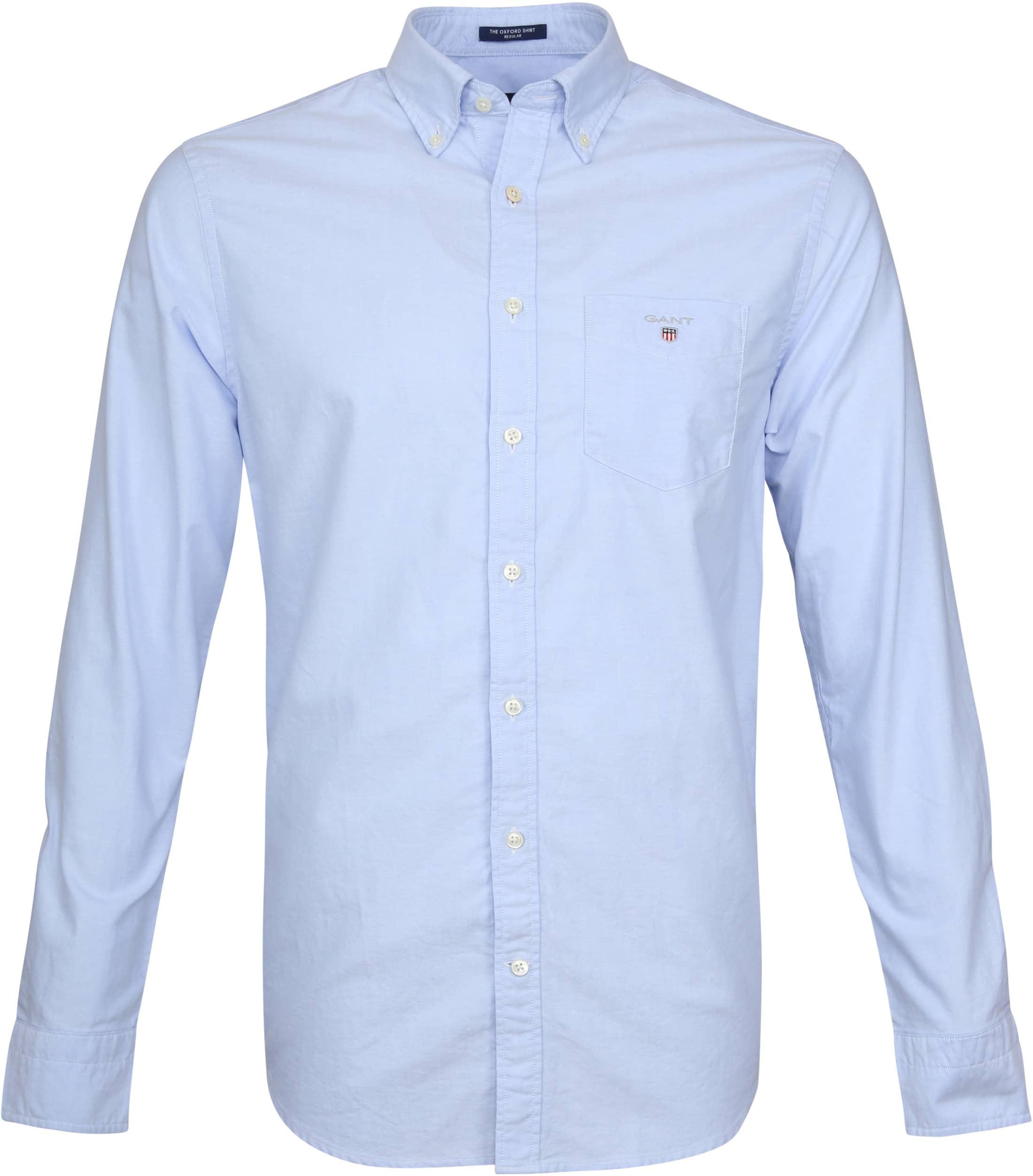Gant Casual Overhemd Oxford Lichtblauw foto 0