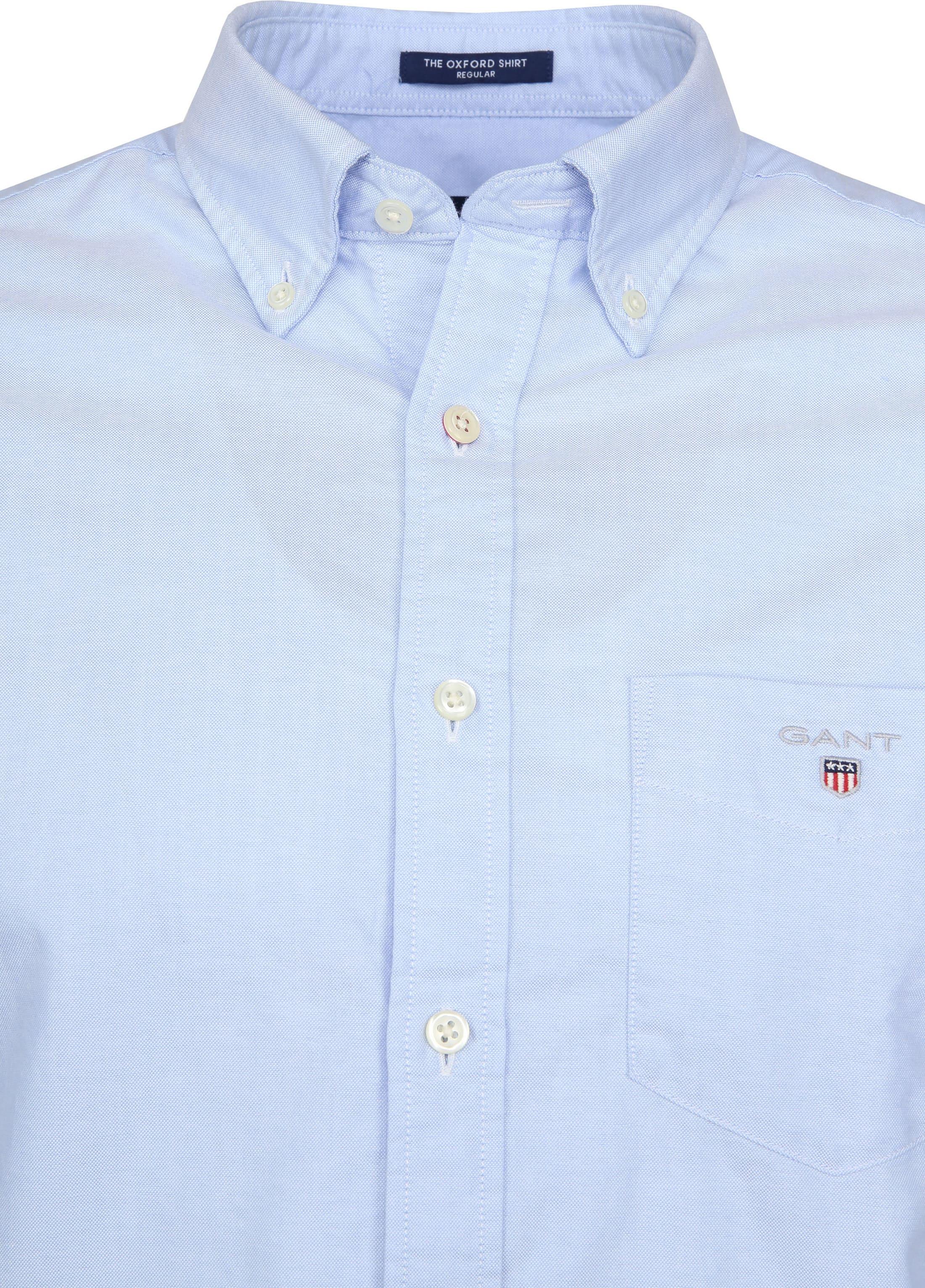 Gant Casual Overhemd Oxford Lichtblauw foto 1