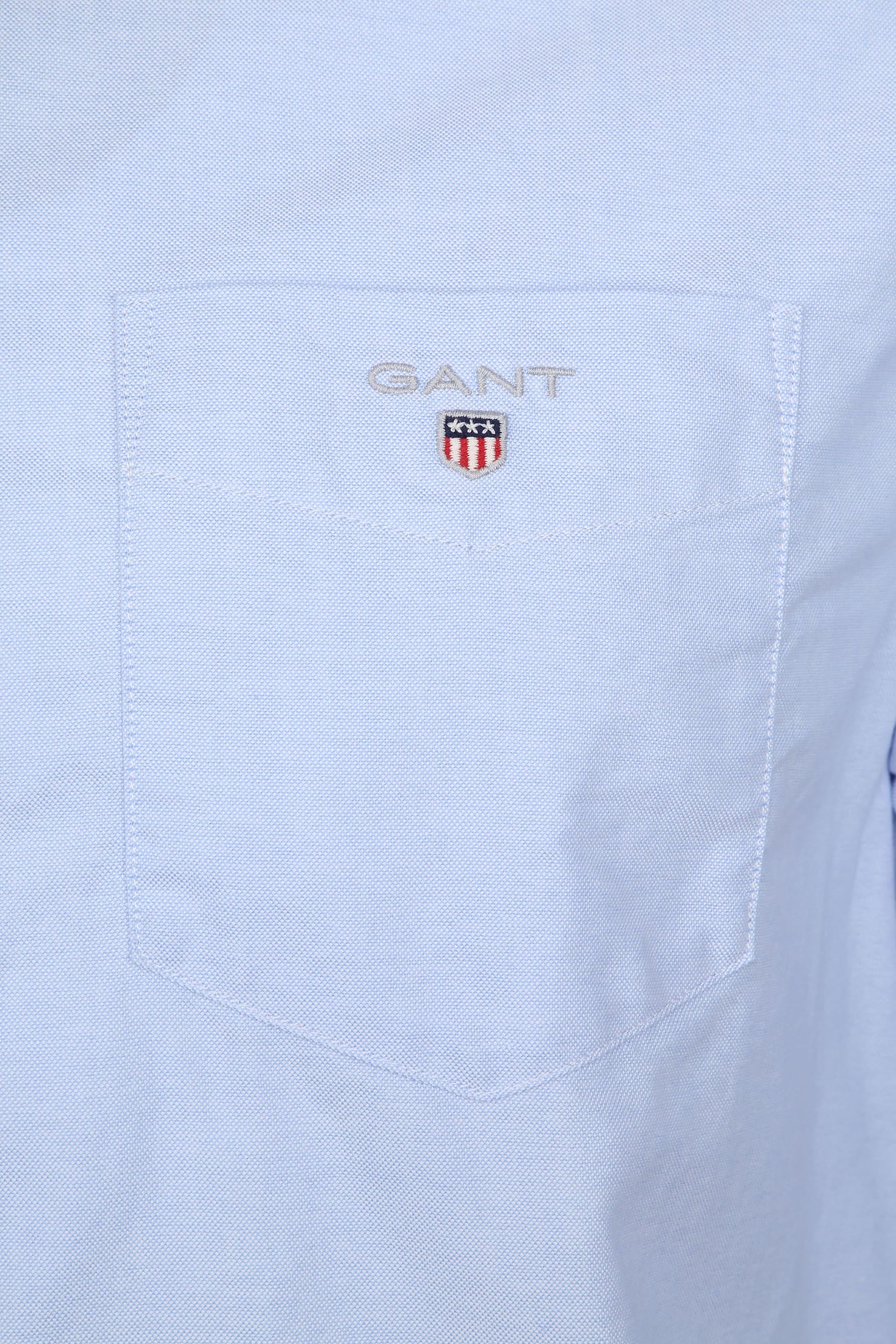 Gant Casual Overhemd Oxford Lichtblauw foto 2