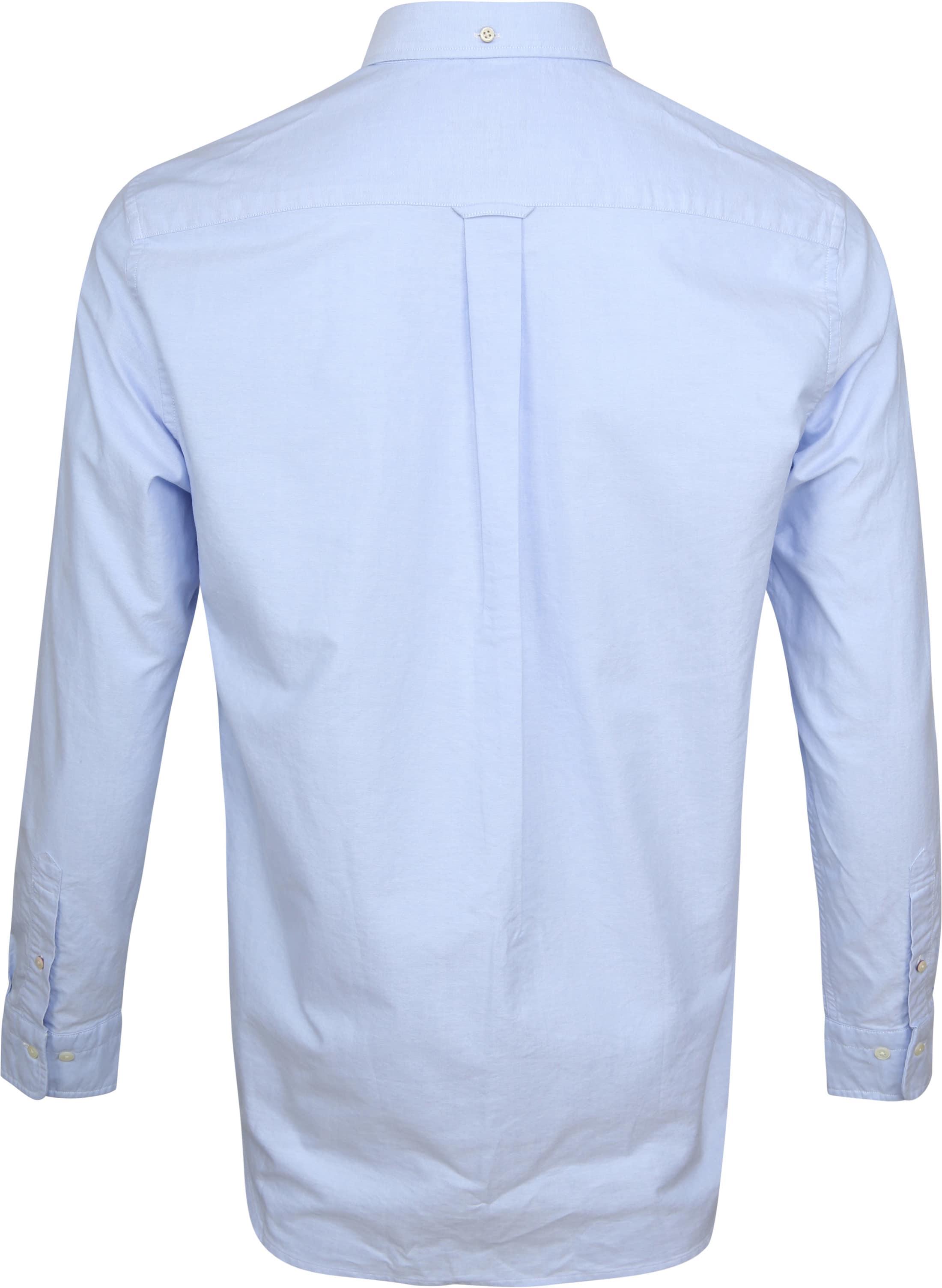 Gant Casual Overhemd Oxford Lichtblauw foto 3
