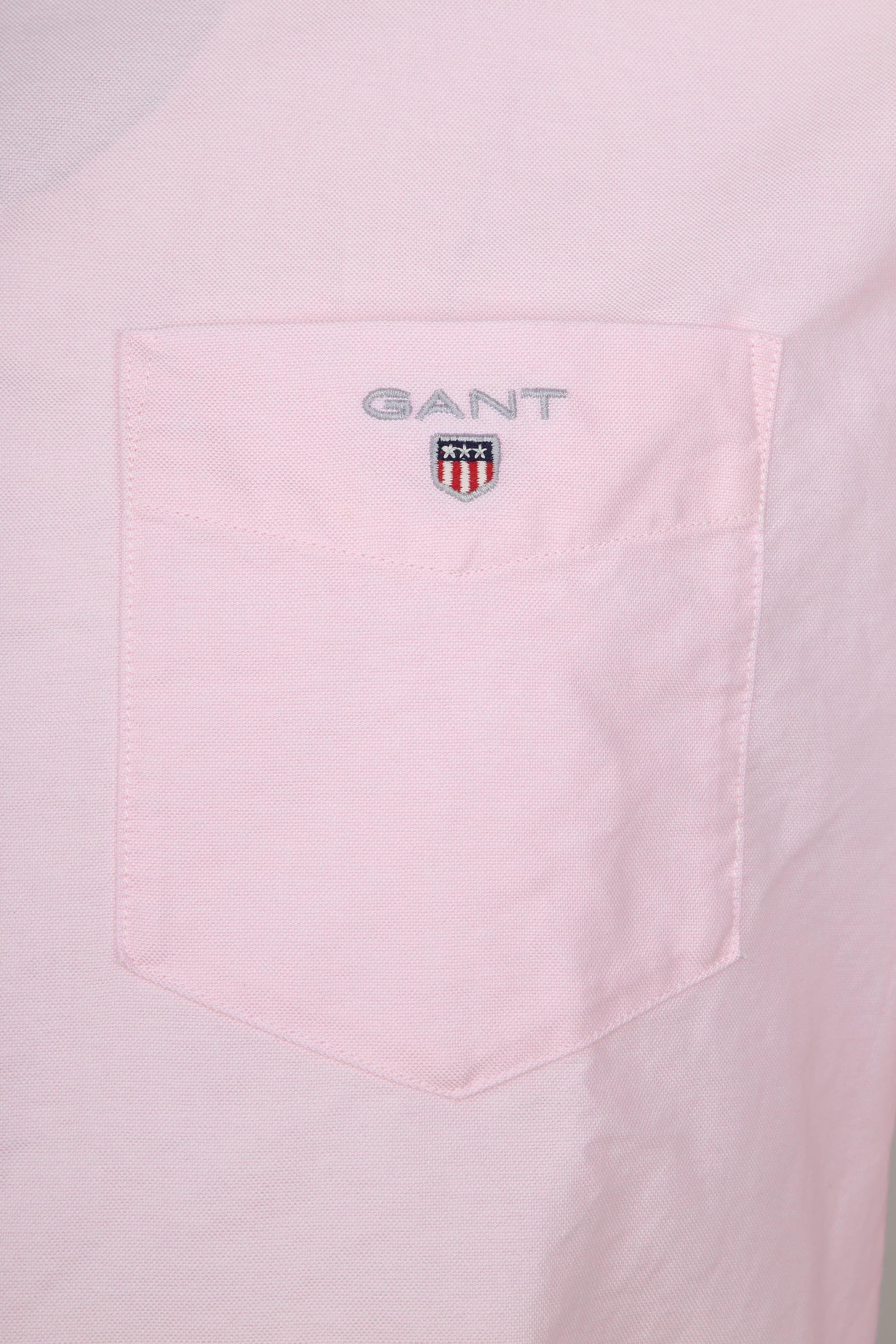 Gant Casual Overhemd Oxford Roze foto 1