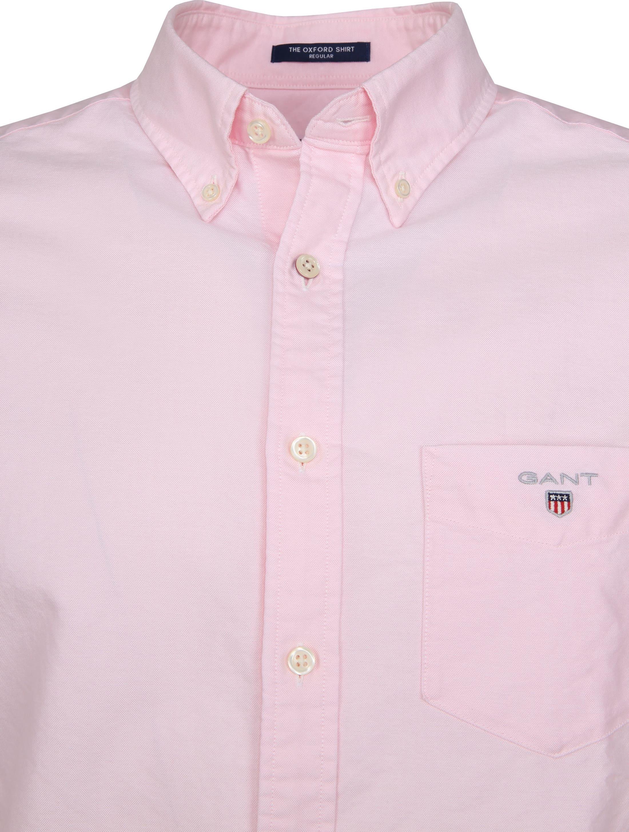 Gant Casual Overhemd Oxford Roze foto 2