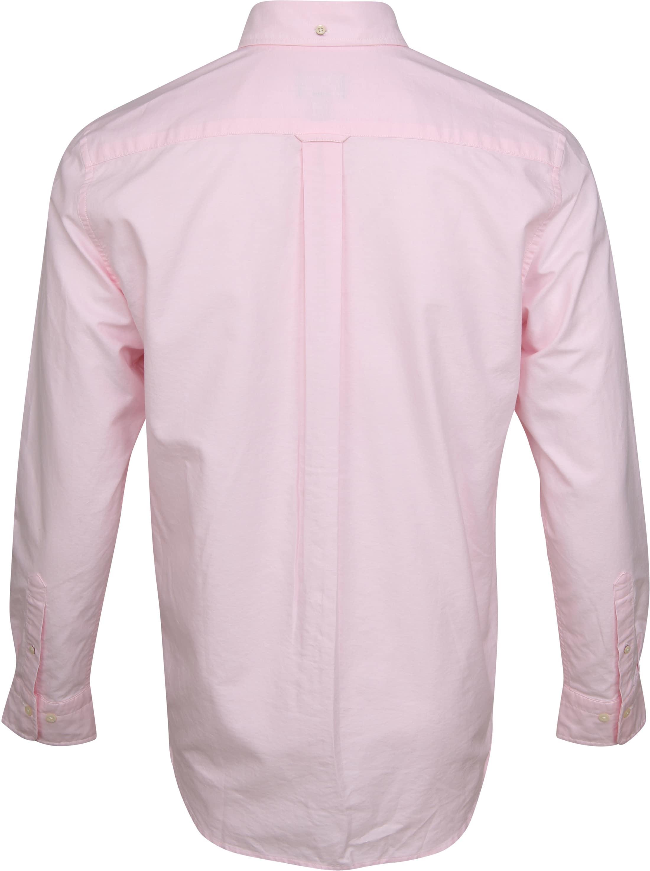 Gant Casual Overhemd Oxford Roze foto 3