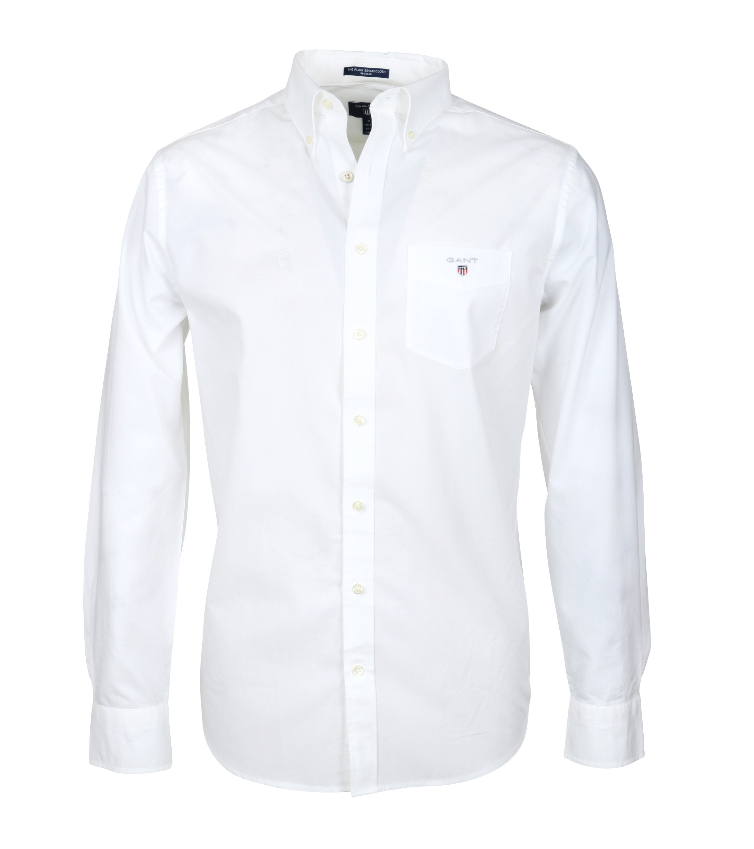 Gant Casual Overhemd Uni Wit foto 0