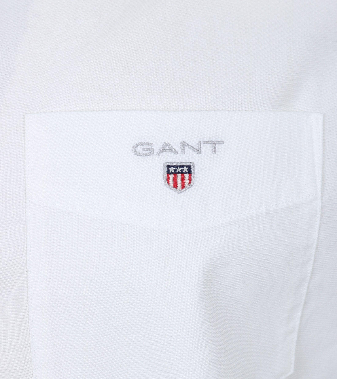 Gant Casual Overhemd Uni Wit foto 1