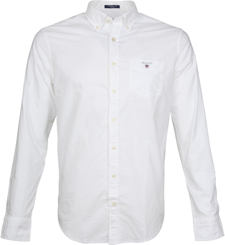 Gant Casual Shirt Oxford White foto 0