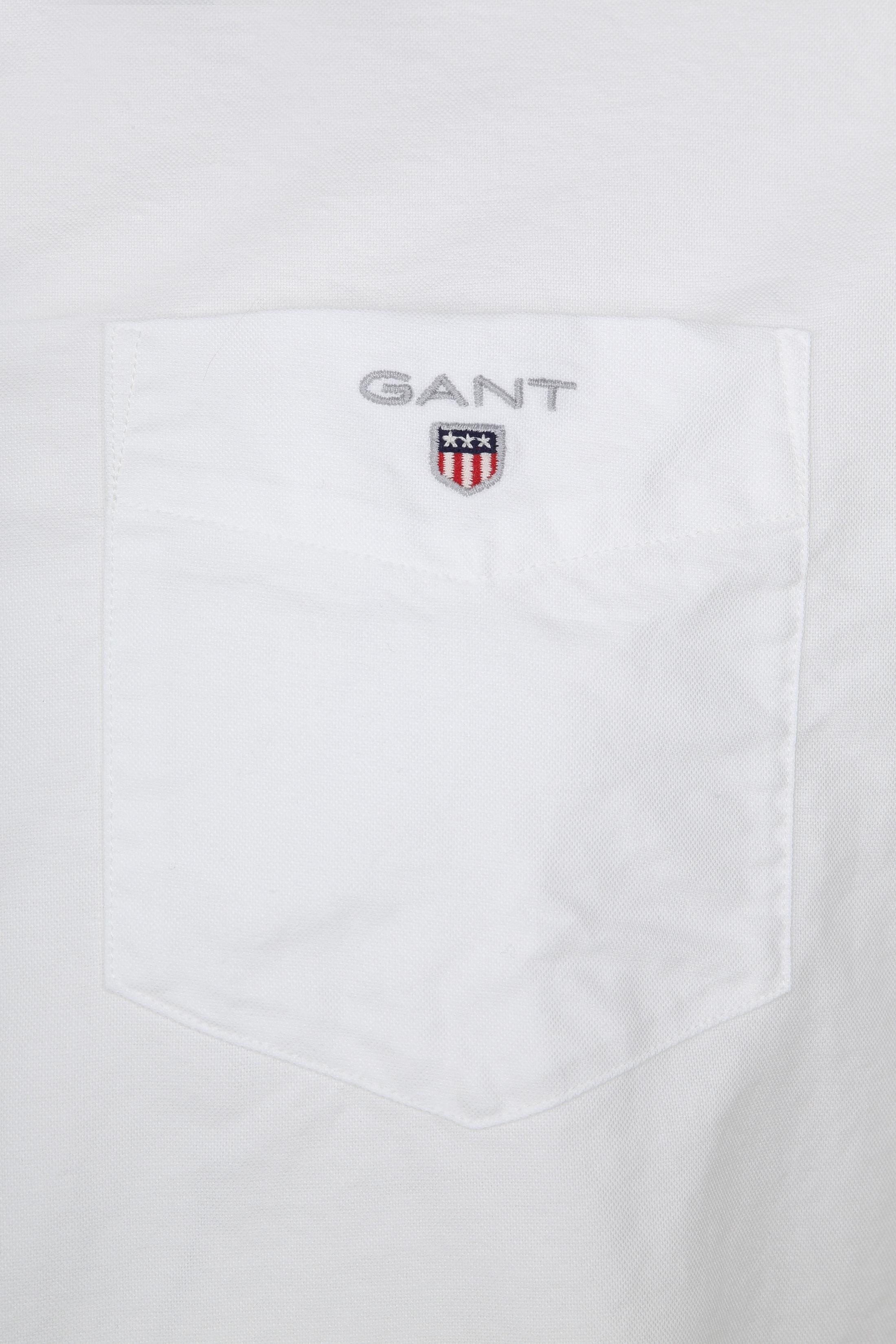 Gant Casual Shirt Oxford White foto 1