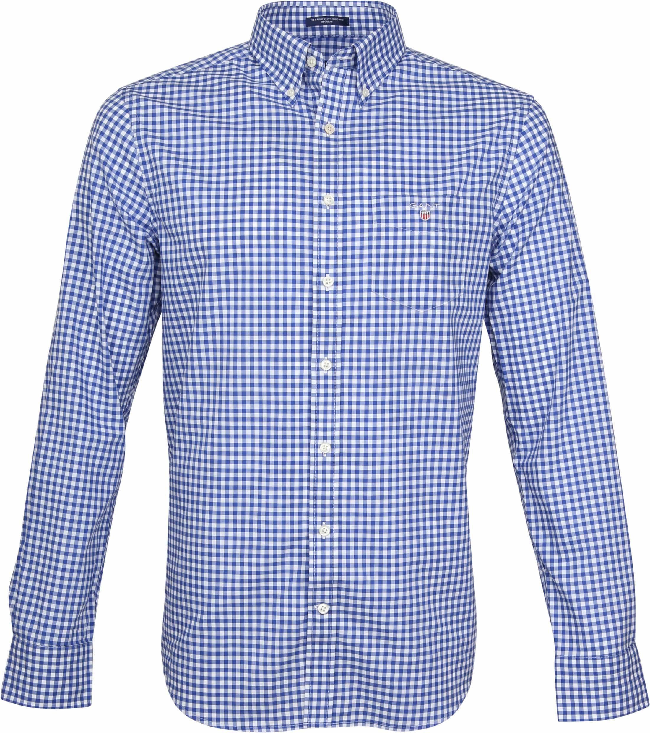 Gant Gingham Shirt Blue Check foto 0