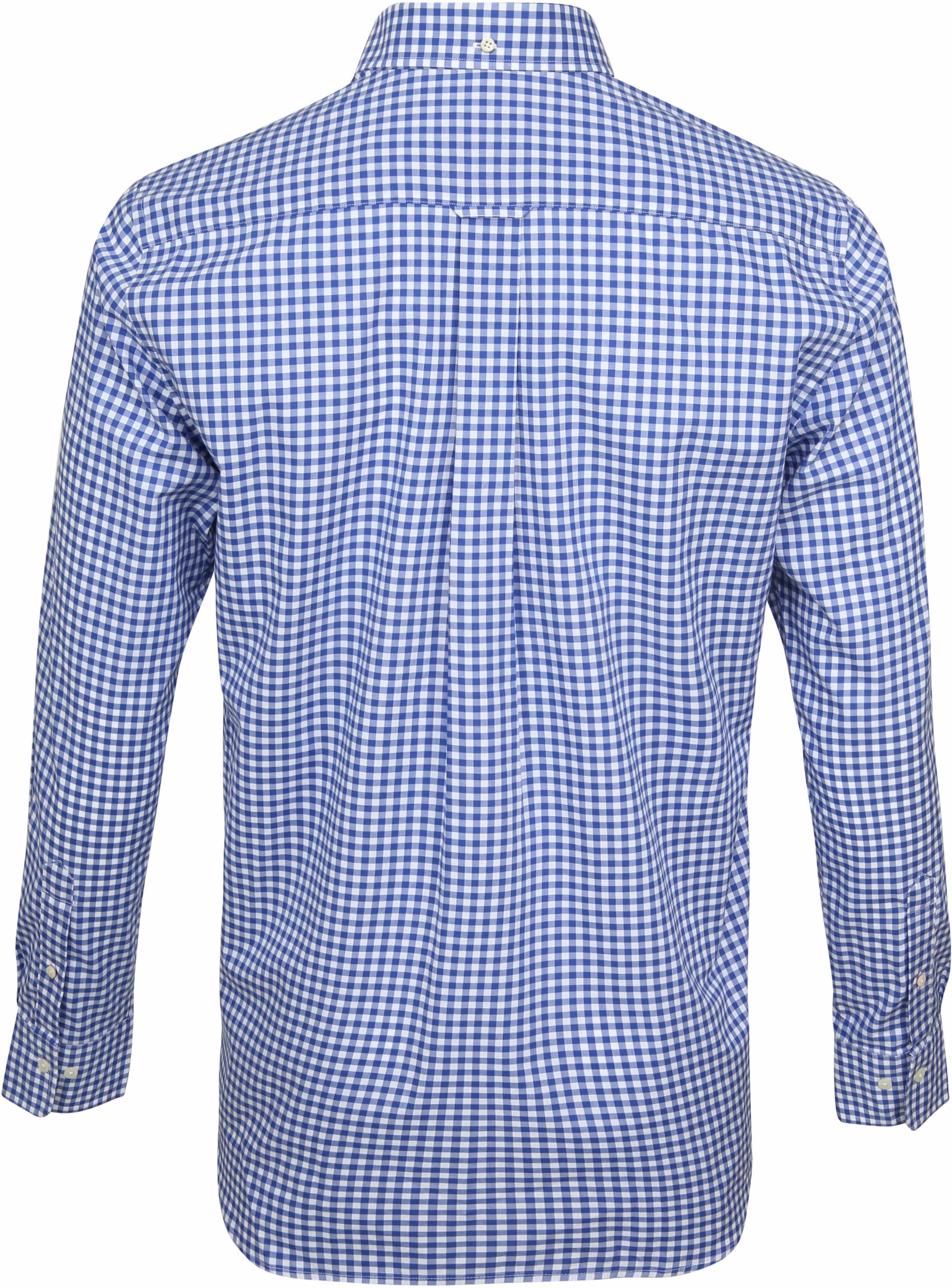 Gant Gingham Shirt Blue Check foto 3
