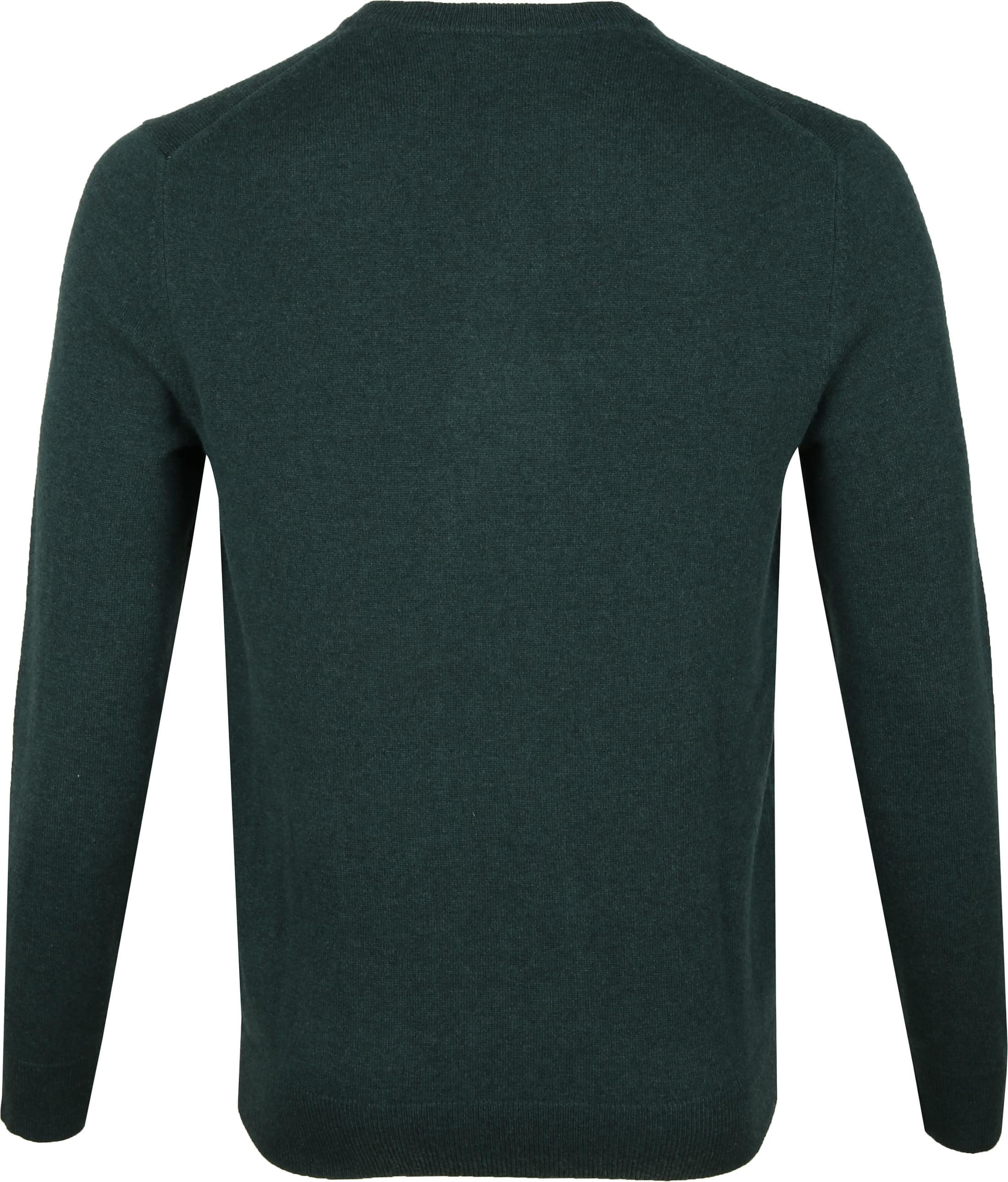 Gant Lambswool Pullover Dark Green photo 3