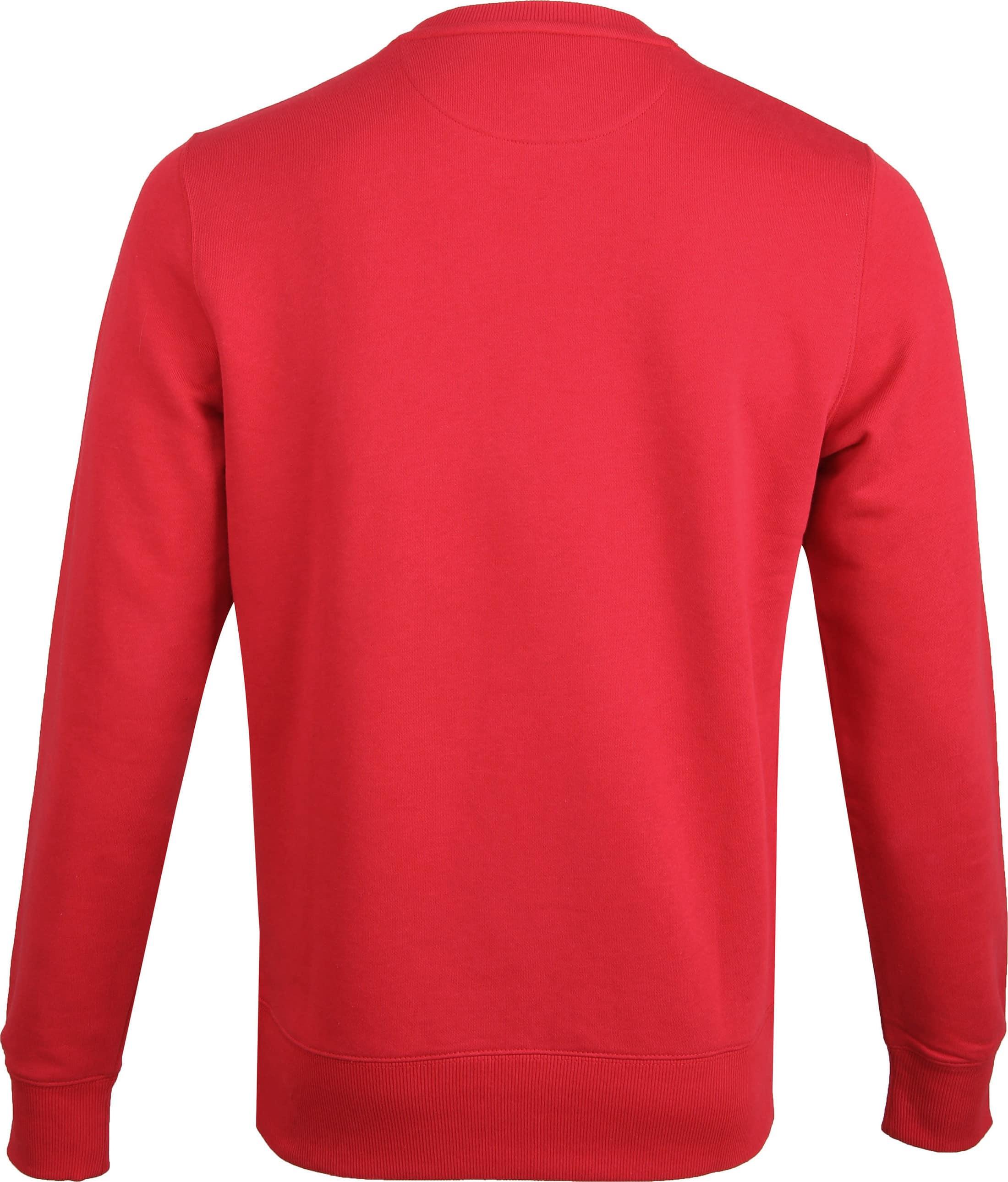 Gant Logo Sweater Red foto 3