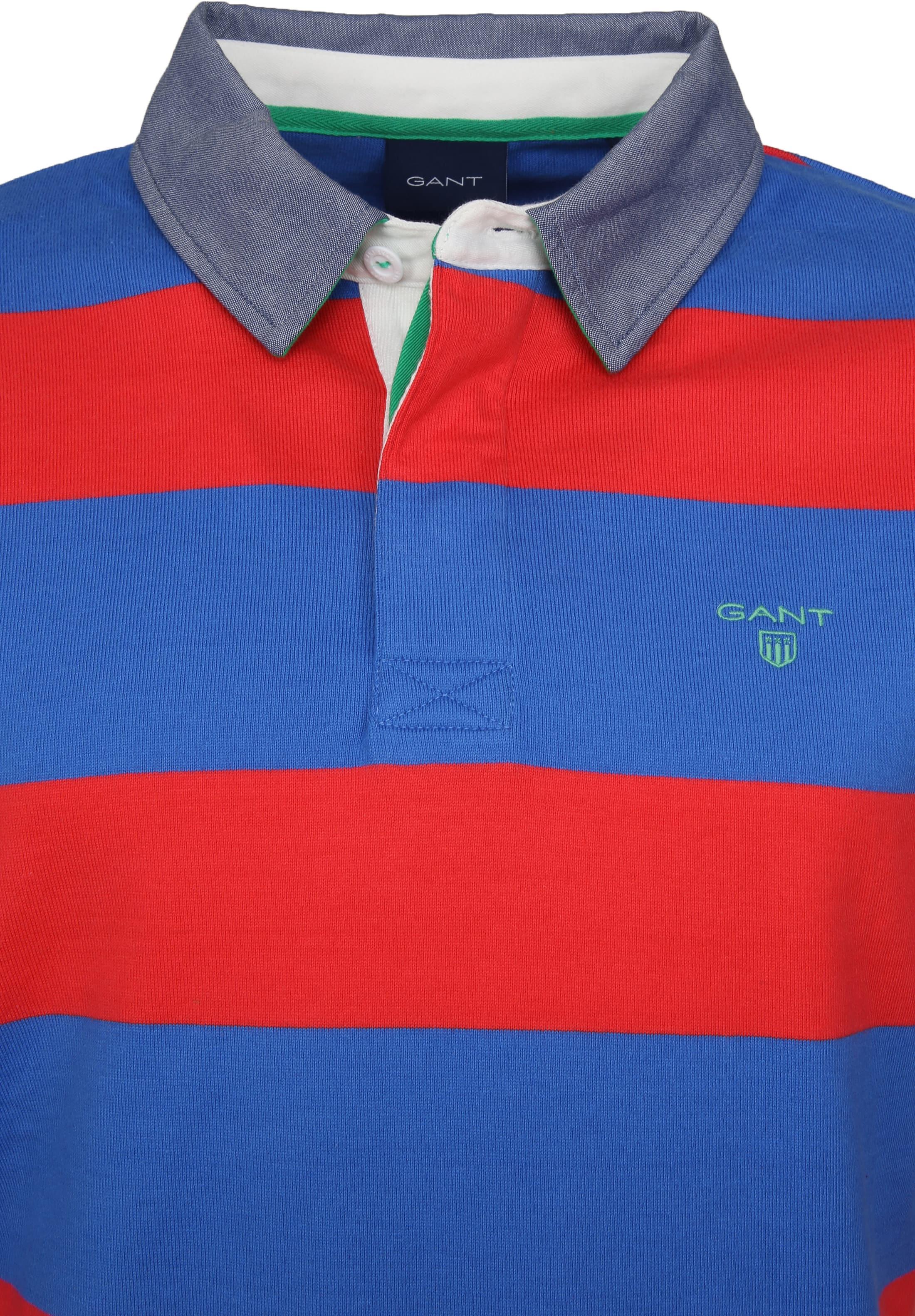 Gant Longsleeve Rugby Polo Barstripe foto 1