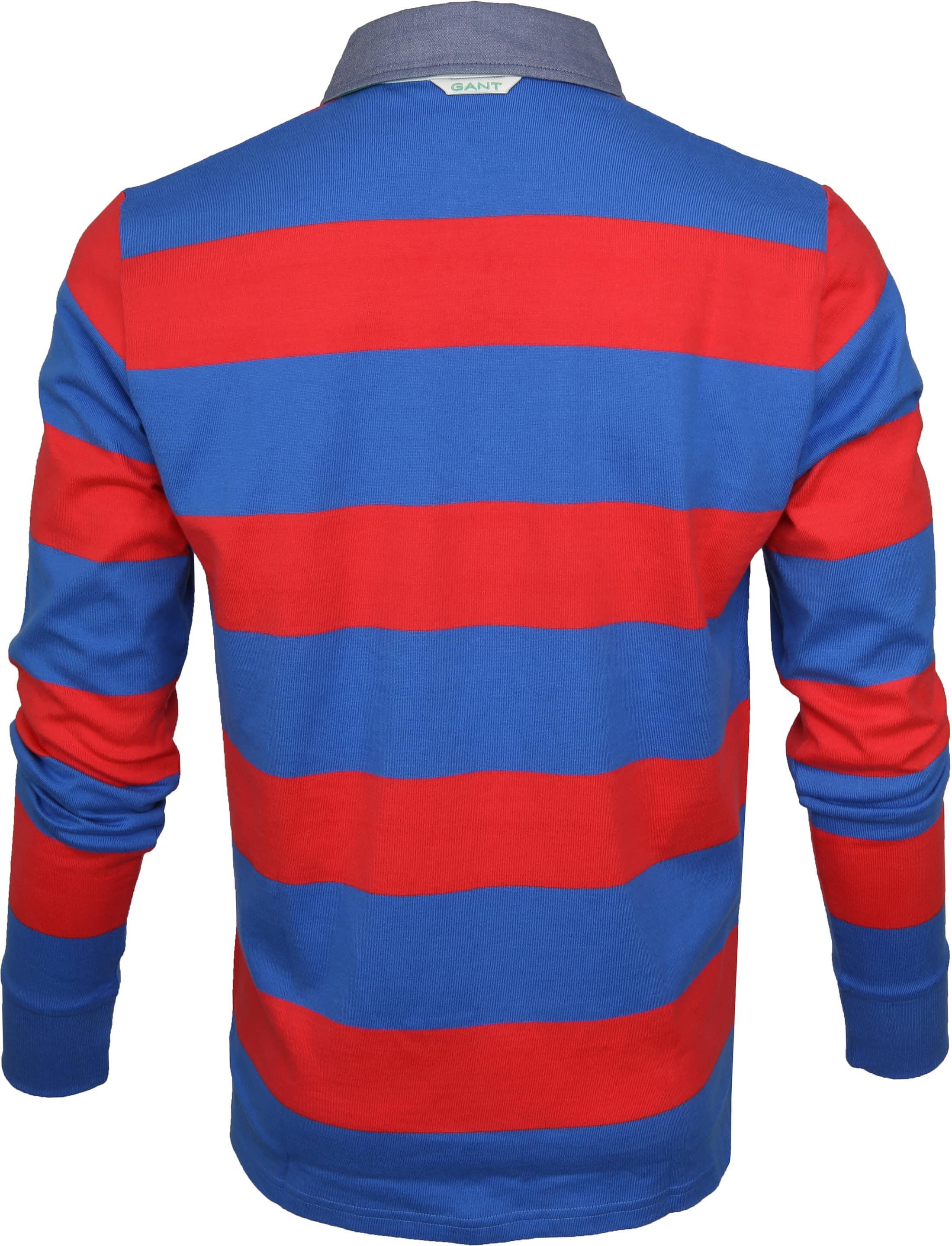 Gant Longsleeve Rugby Polo Barstripe foto 3