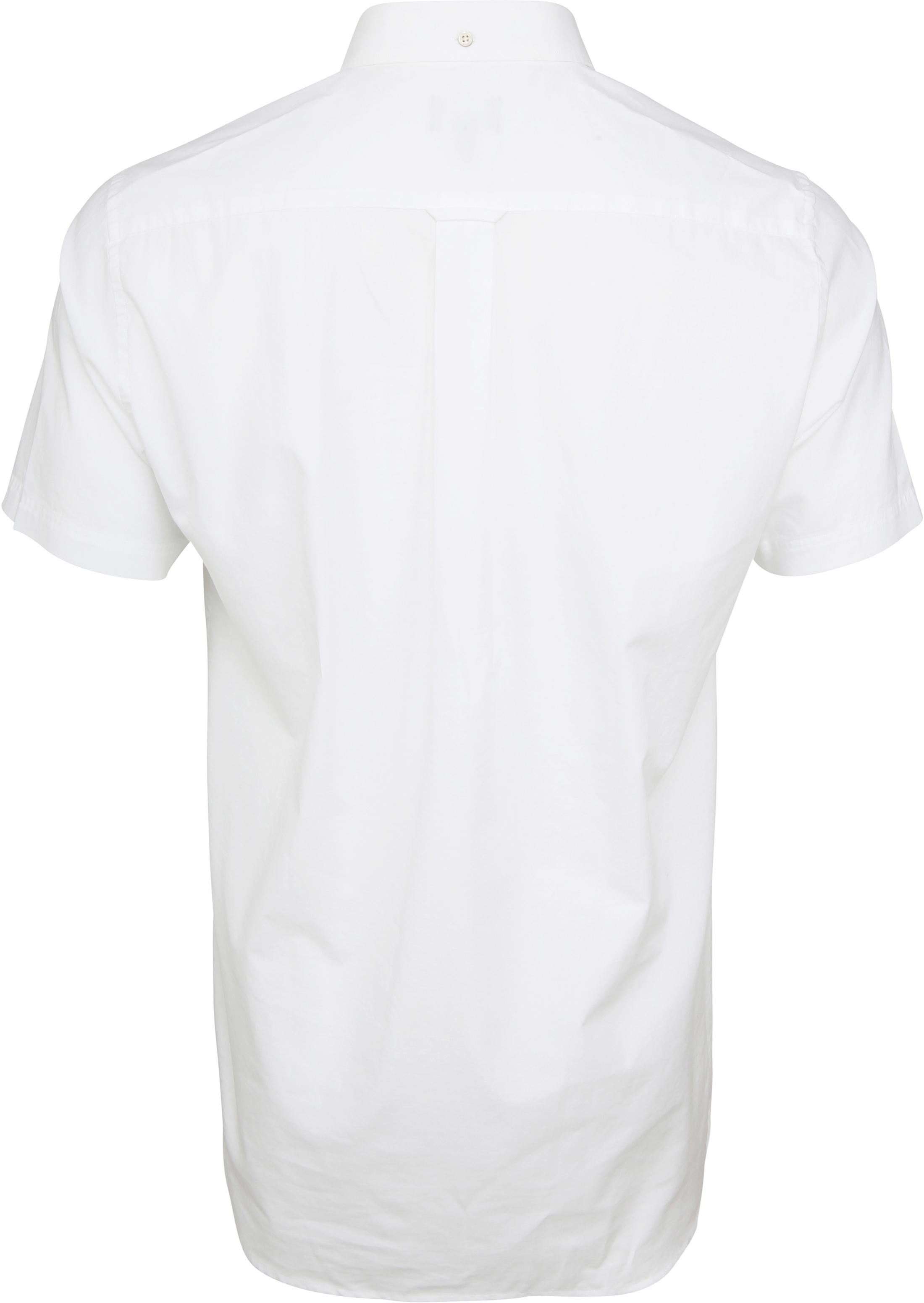 Gant Overhemd Broadcloth Wit