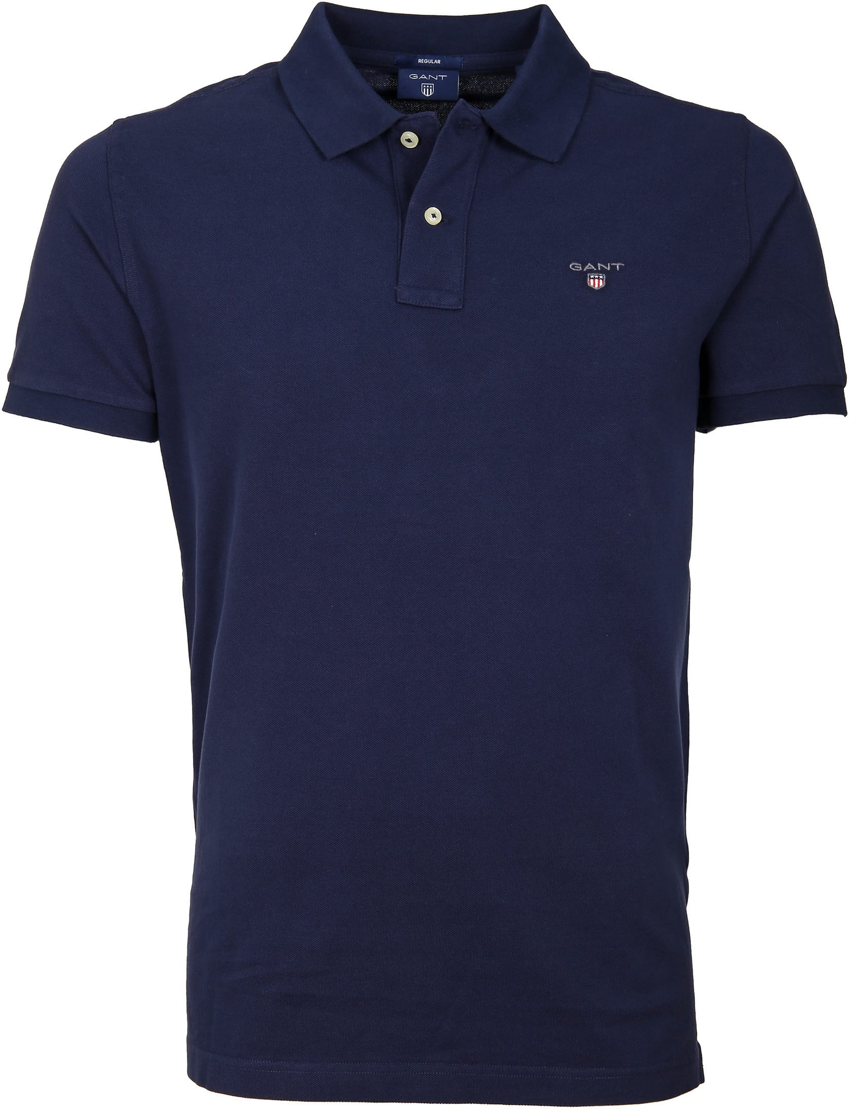 Gant Polo Basic Navy foto 0