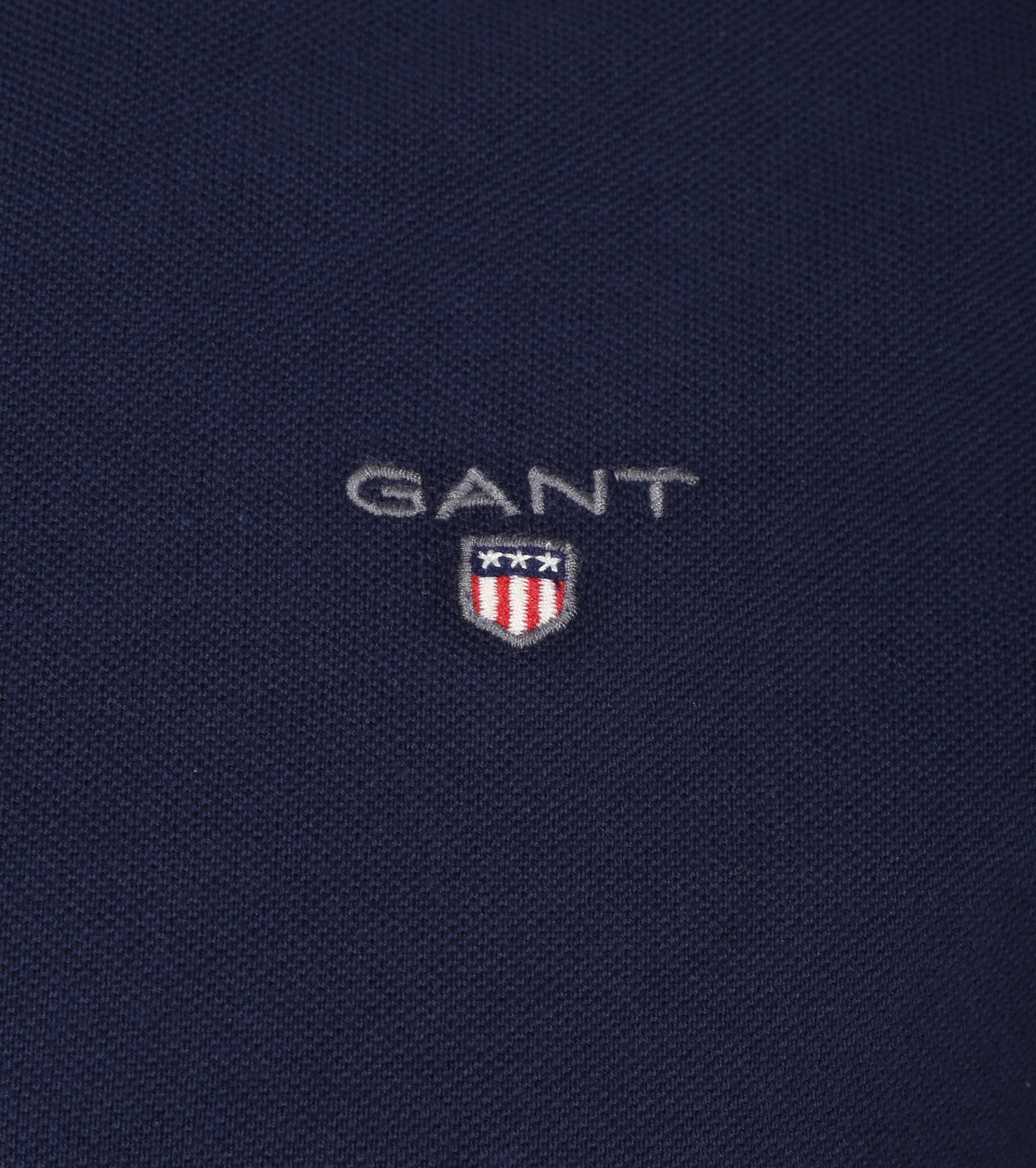 Gant Polo Basic Navy foto 1