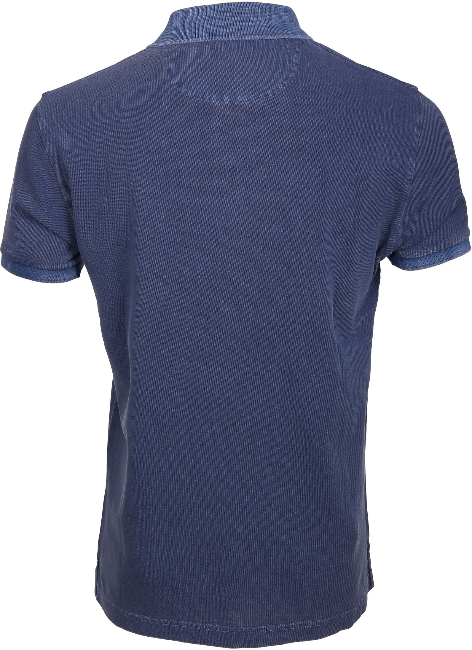 Gant Polo Basic Washed Navy foto 2