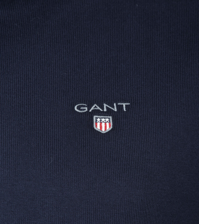 Gant Polo Longsleeve Navy foto 1