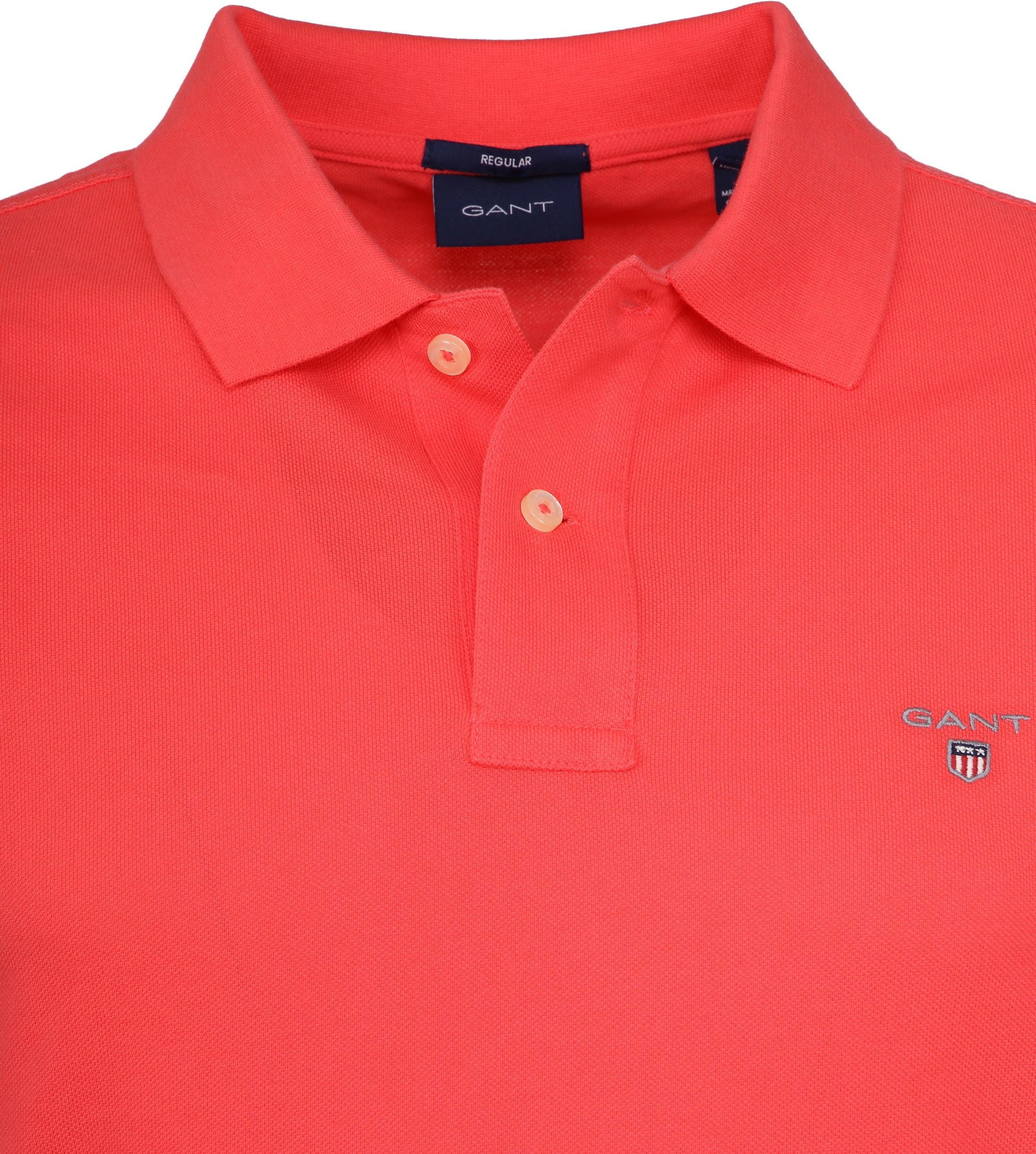 Gant Poloshirt Basic Pink foto 1