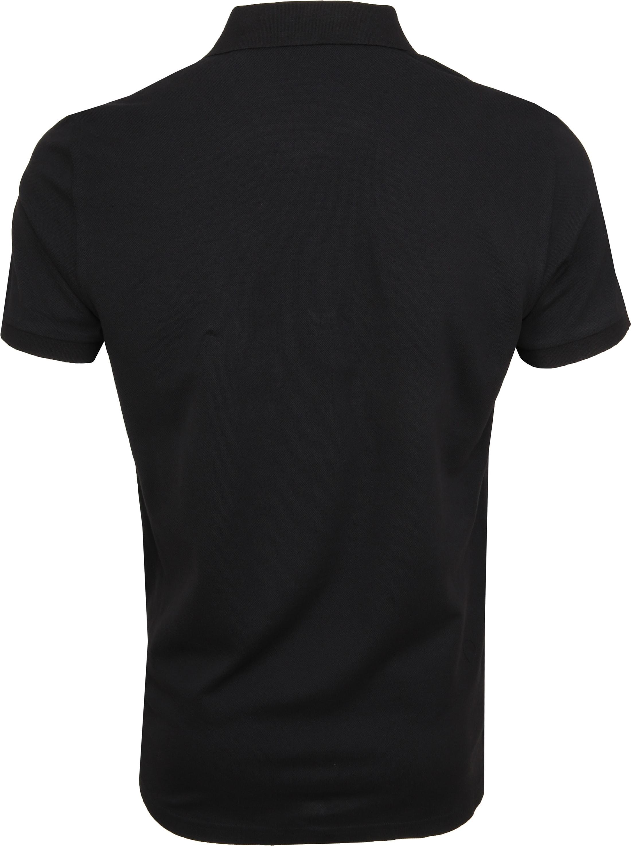 Gant Poloshirt Basic Zwart foto 3