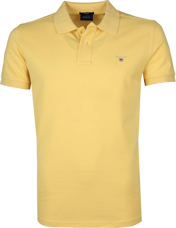 Gant Poloshirt Rugger Geel