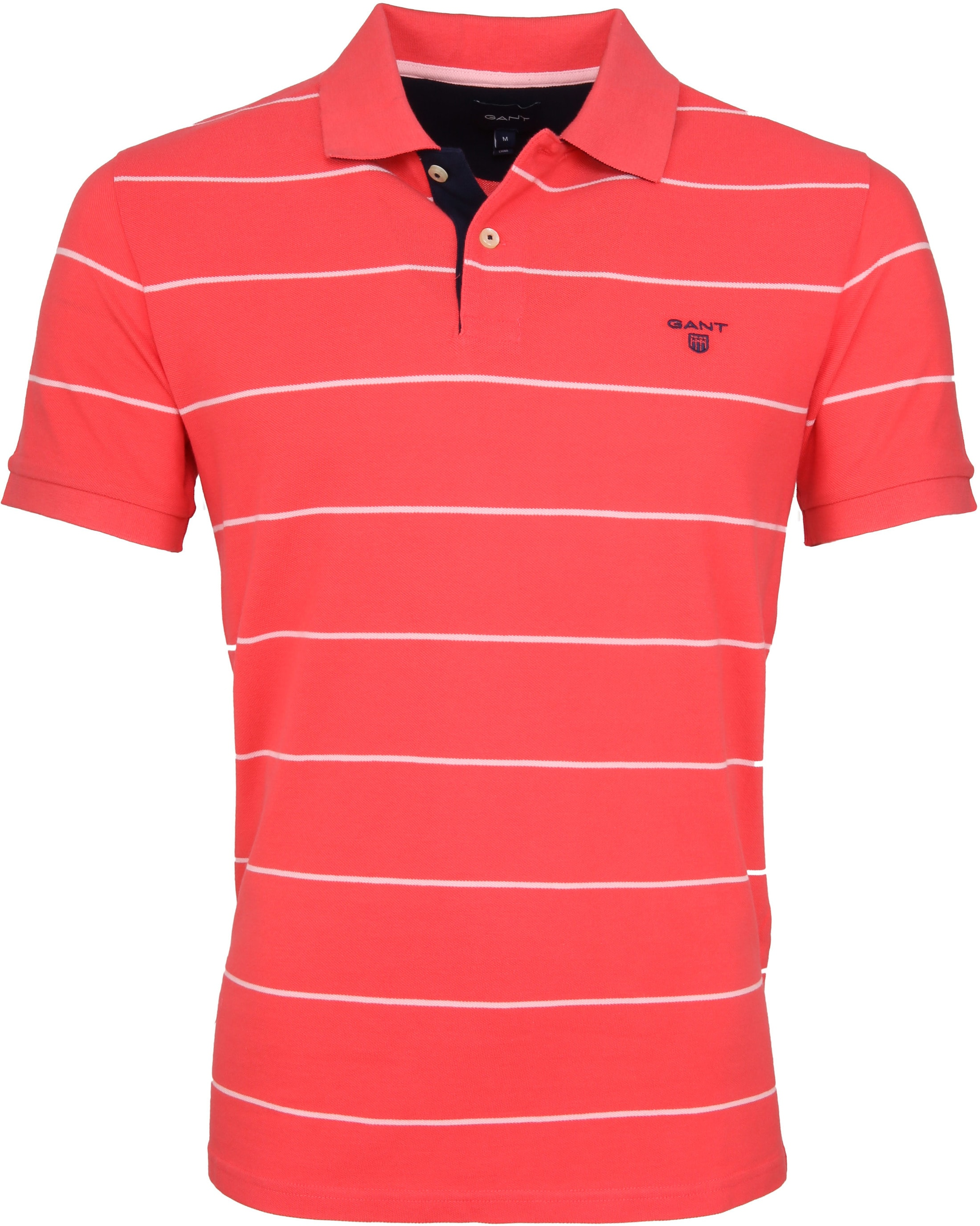 Gant Poloshirt Strepen Roze