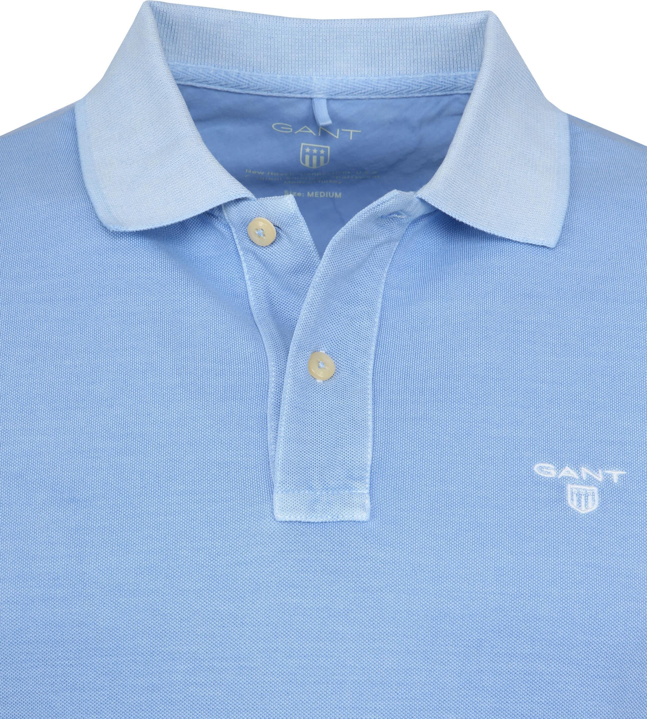 Gant Poloshirt Sunbleached Hellblau foto 1